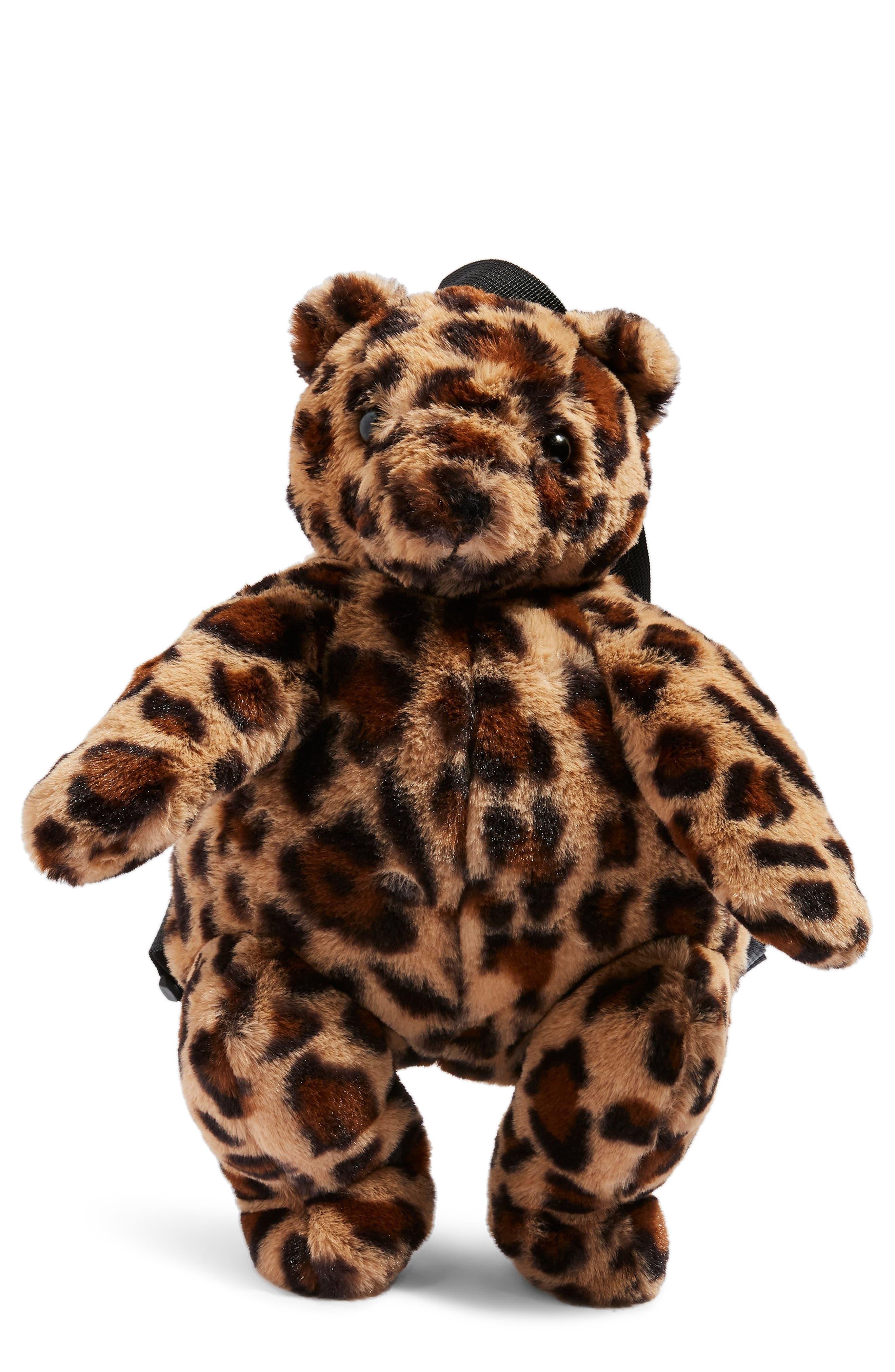 Topshop Faux Fur Teddy Bear Backpack -