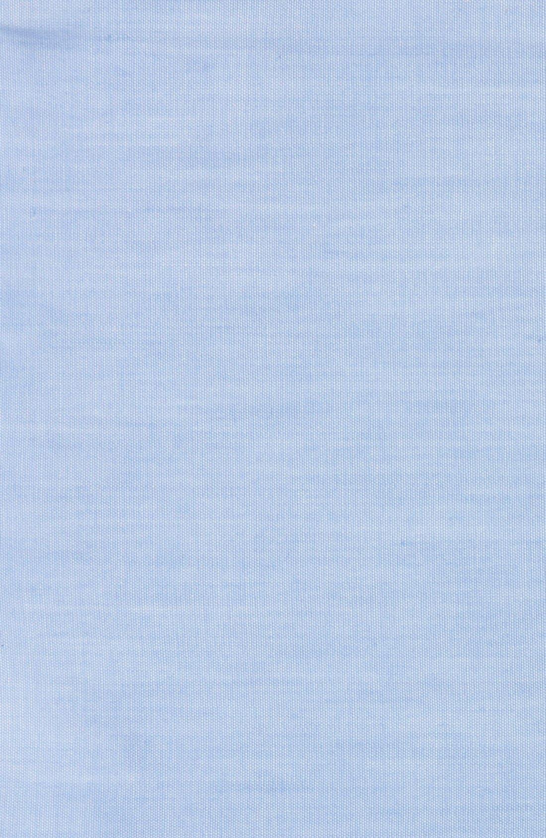 Chambray CottonPocket Square,                             Alternate thumbnail 6, color,                             455