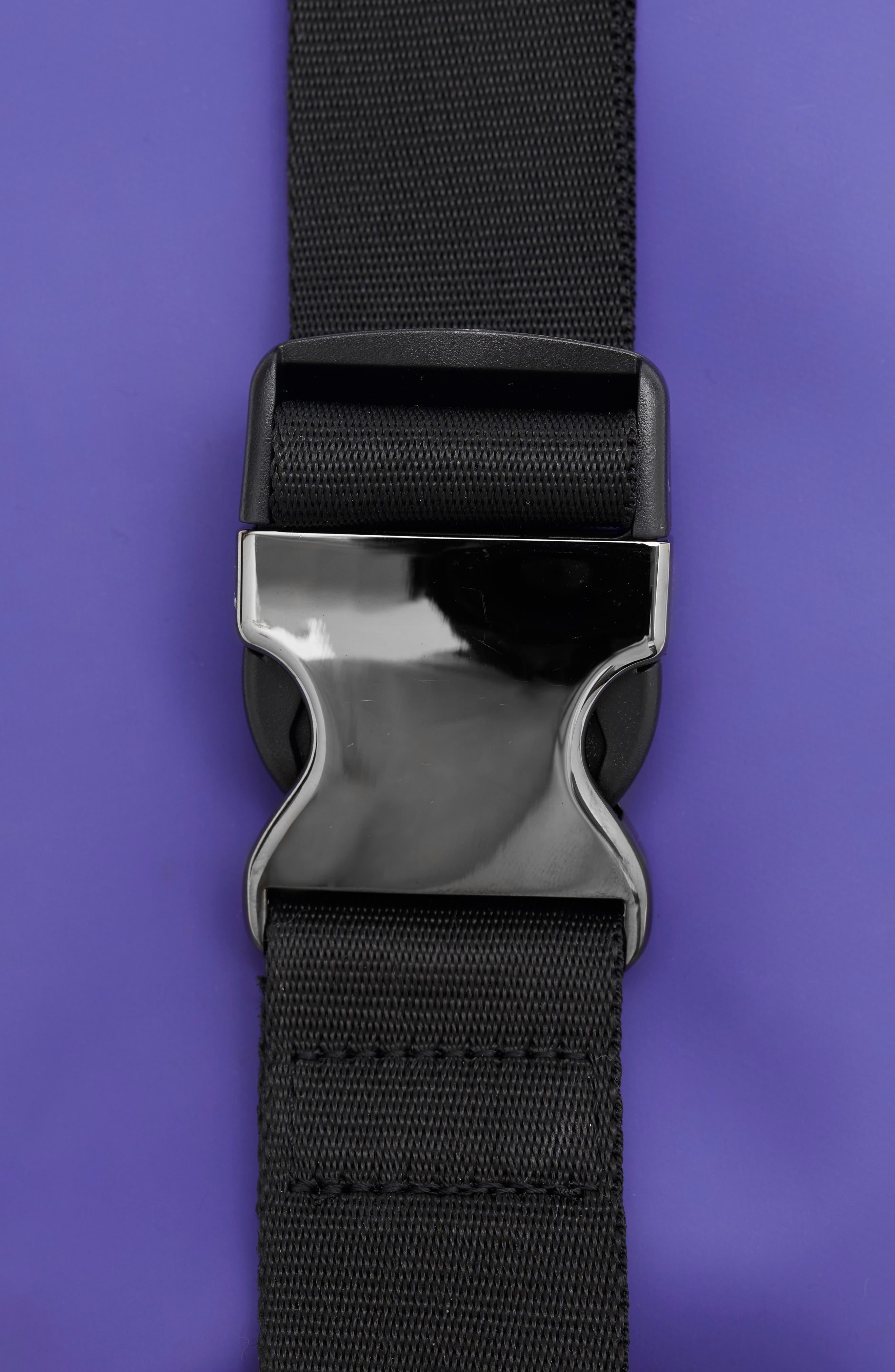 RAINS,                             Belt Bag,                             Alternate thumbnail 3, color,                             LILAC