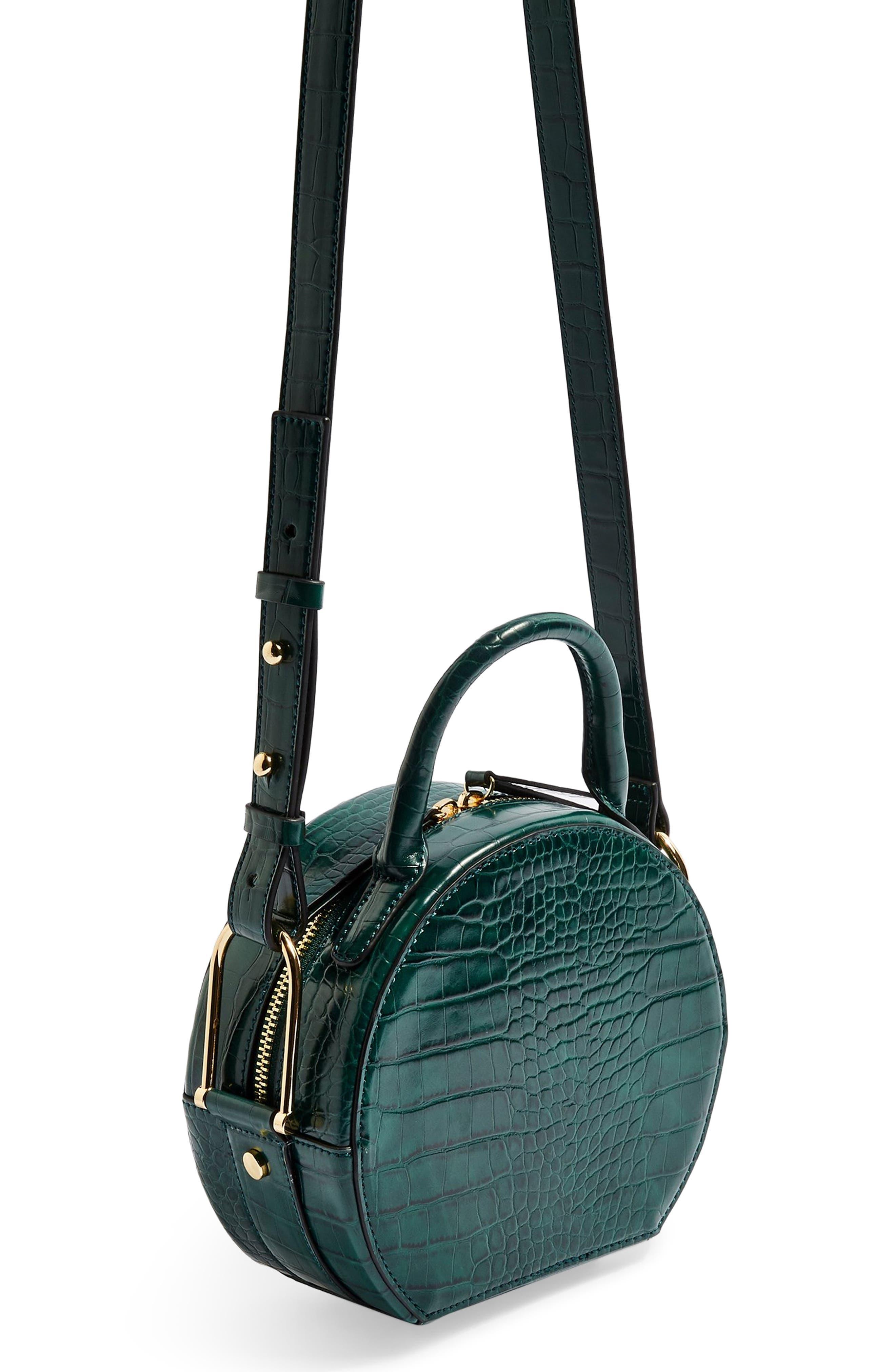 Blair Circle Bag,                             Alternate thumbnail 3, color,                             GREEN