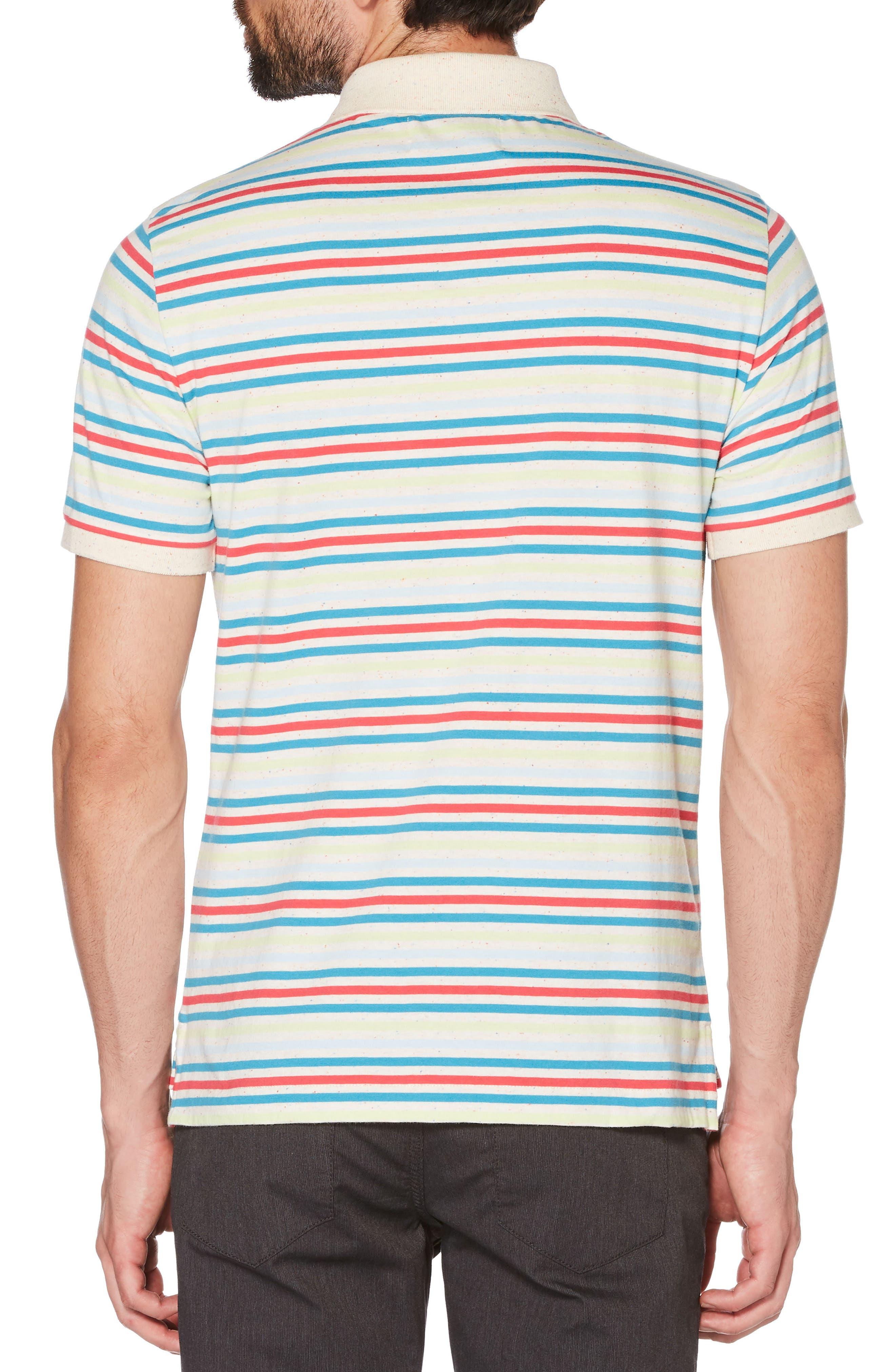 Stripe Polo,                             Alternate thumbnail 2, color,                             118