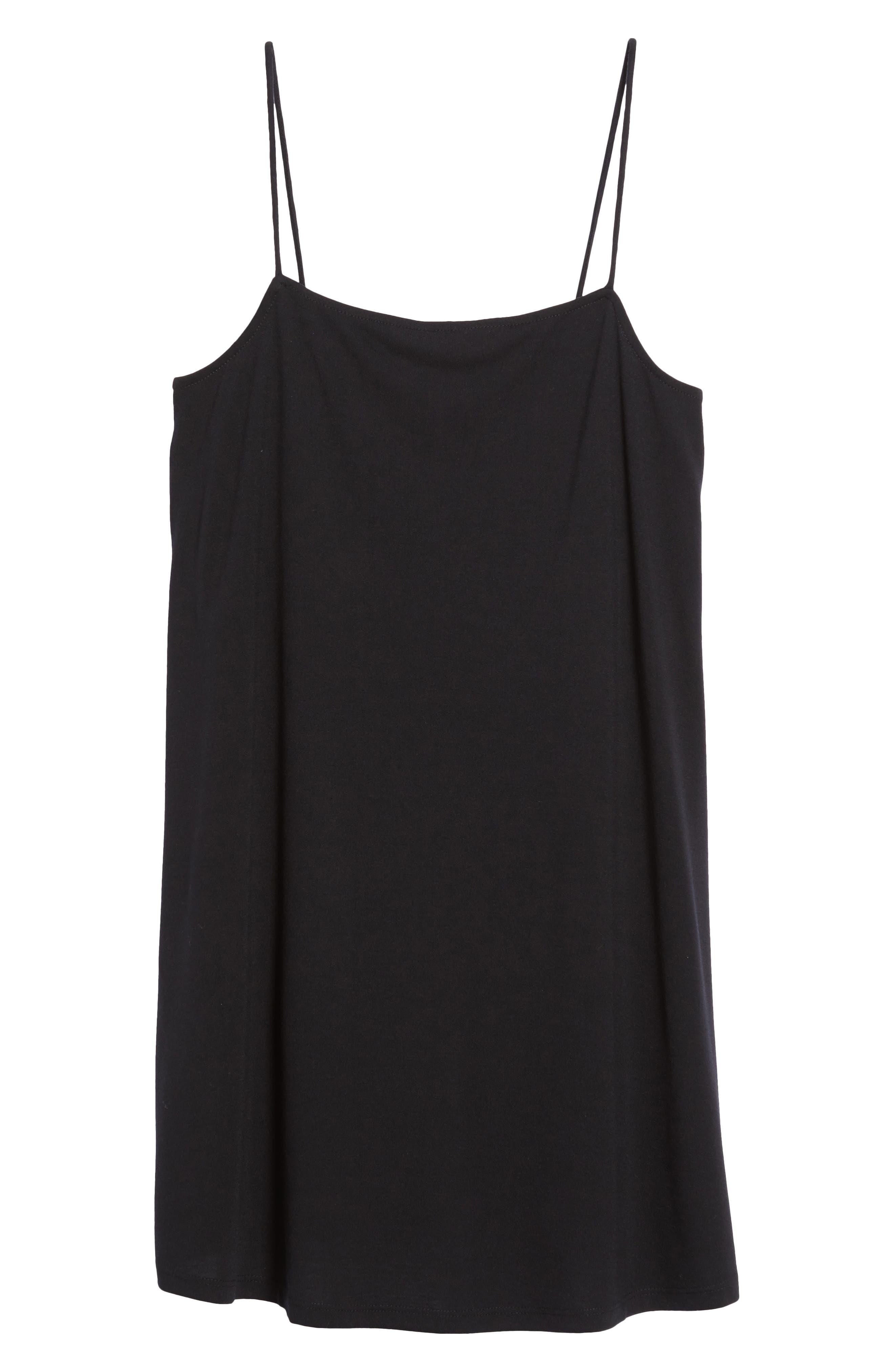 Rachel Camisole Dress,                             Alternate thumbnail 6, color,                             001