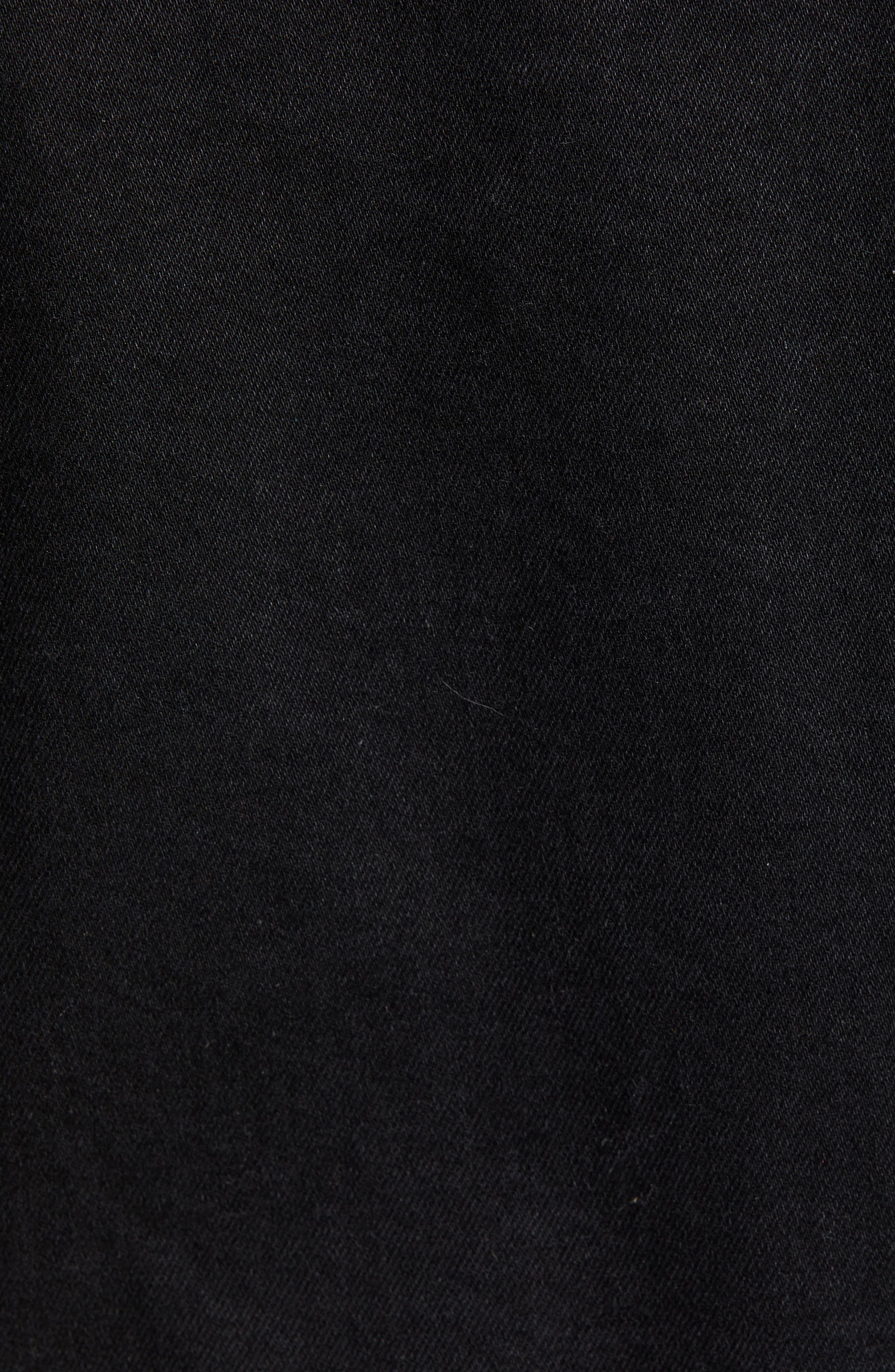 Polara Denim Jacket,                             Alternate thumbnail 7, color,                             WASHED BLACK