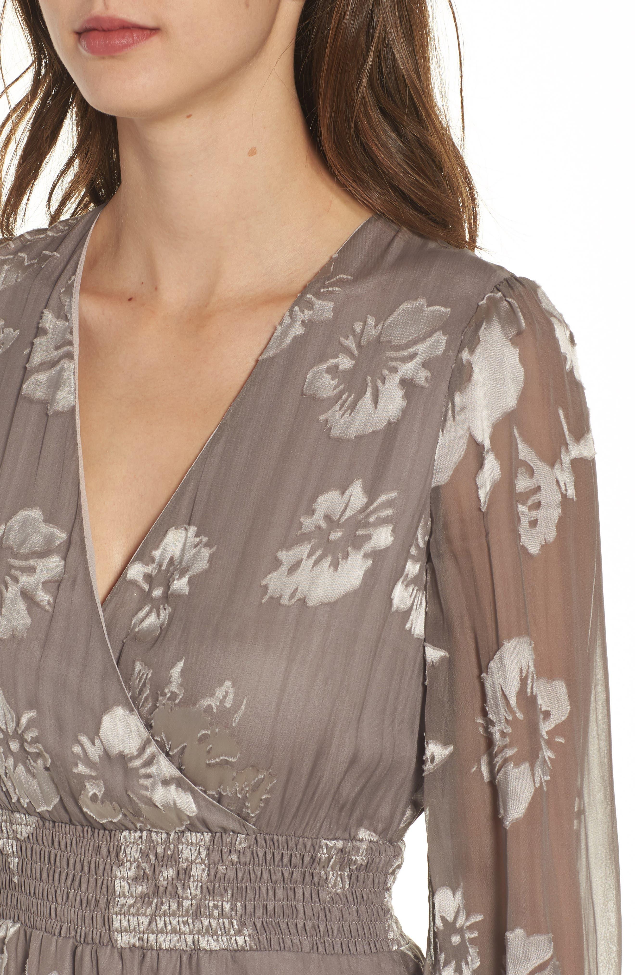 Mabeline Fit & Flare Dress,                             Alternate thumbnail 4, color,                             500