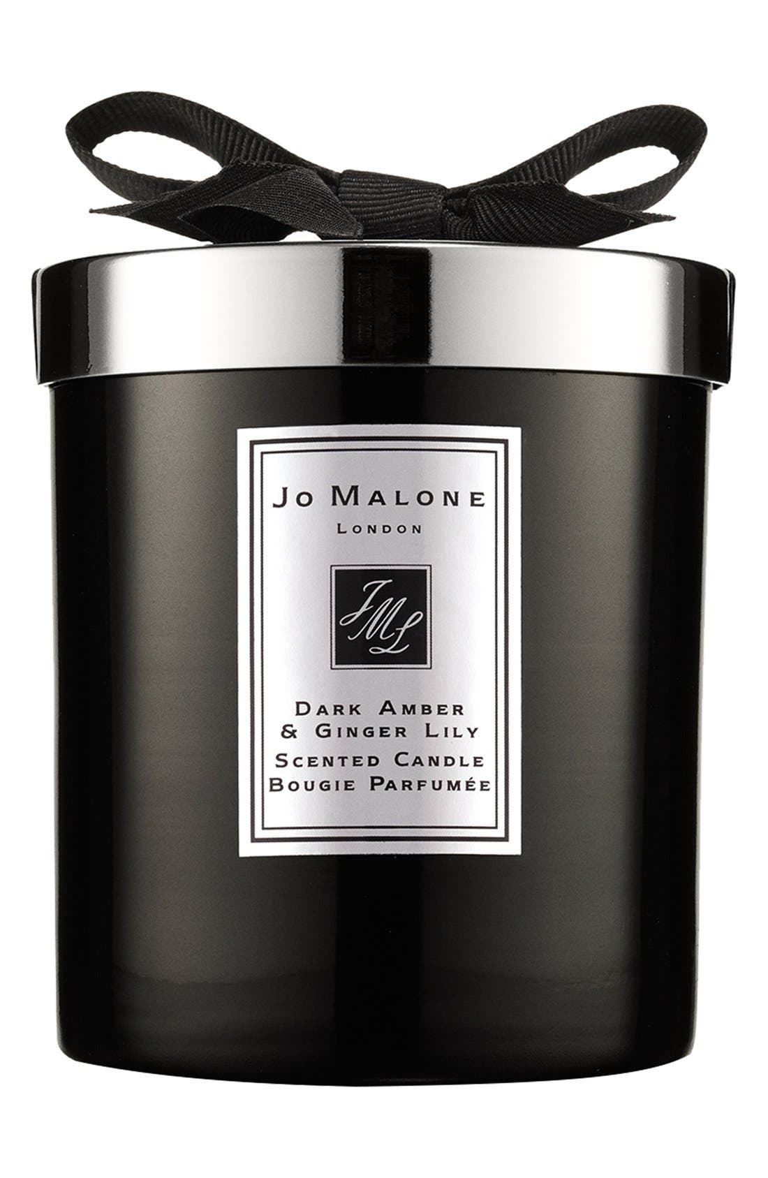 Jo Malone<sup>™</sup> Dark Amber & Ginger Lily Candle,                             Main thumbnail 1, color,                             NO COLOR