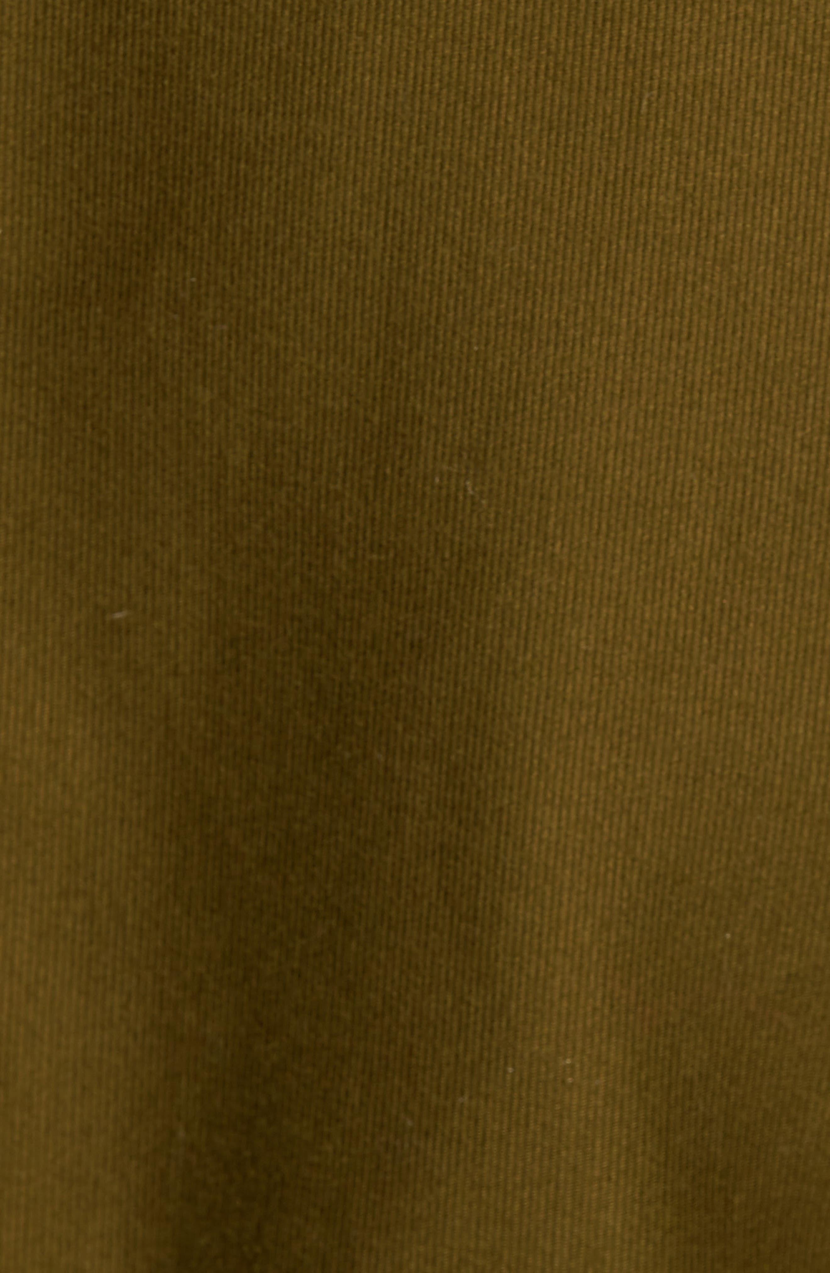 Bedford Corduroy Goose Down Jacket with Faux Fur Trim,                             Alternate thumbnail 6, color,                             352