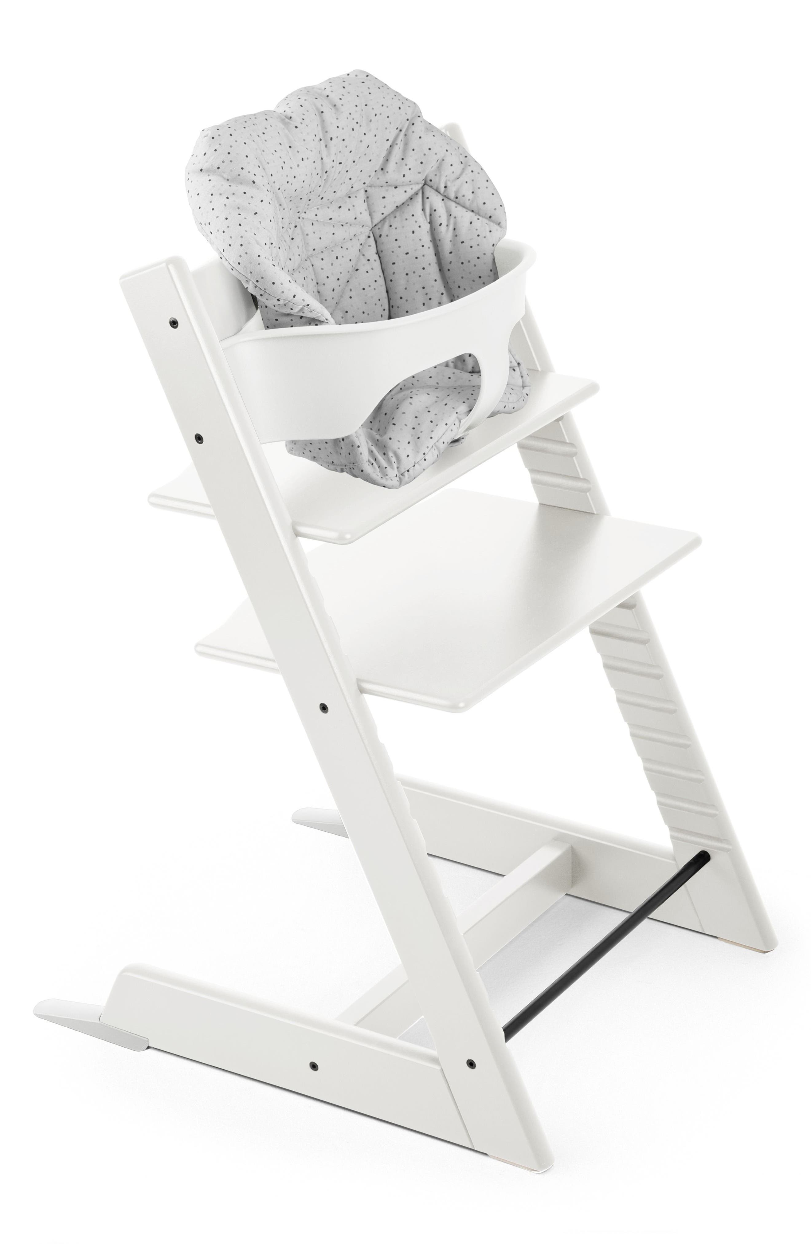 Seat Cushion for Tripp Trapp<sup>®</sup> Highchair,                             Alternate thumbnail 3, color,                             CLOUD SPRINKLE