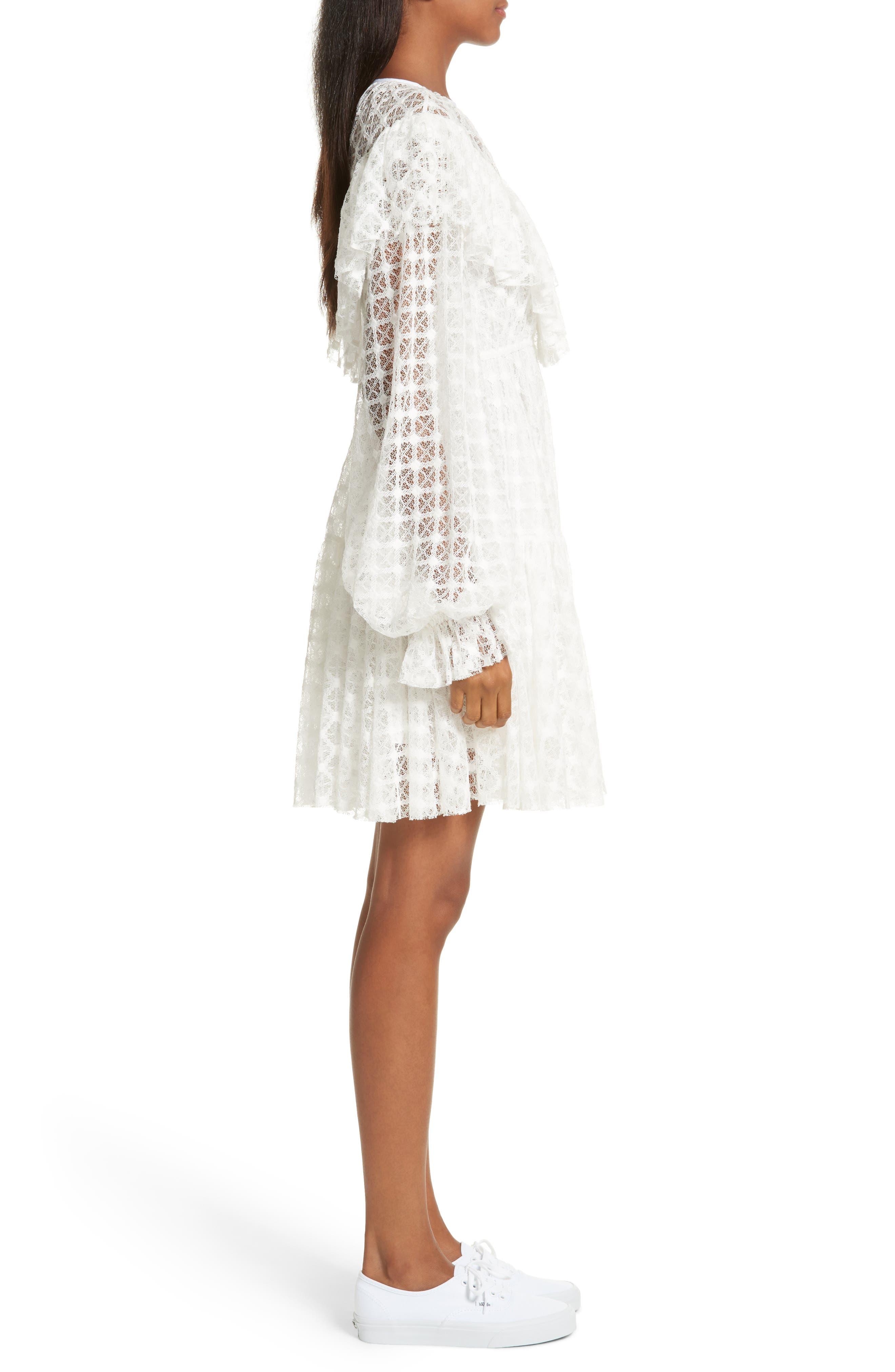 Lace Victorian Dress,                             Alternate thumbnail 3, color,                             900