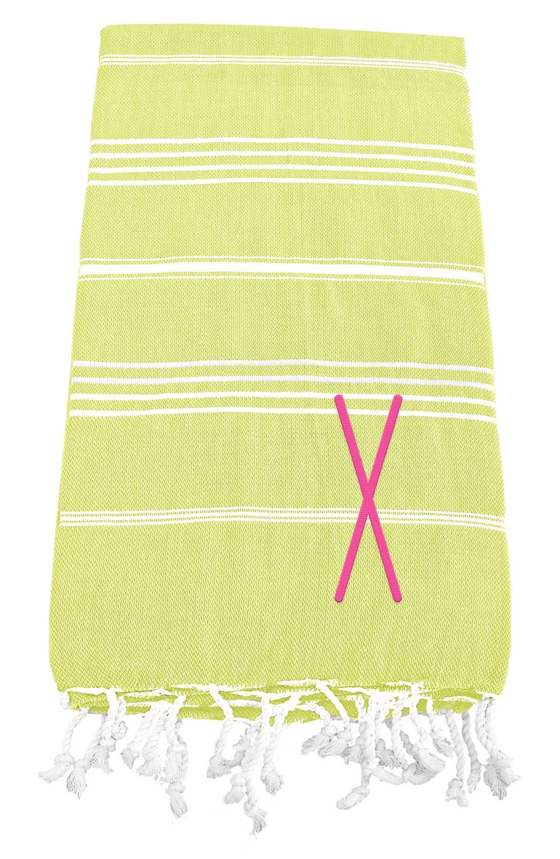 Monogram Turkish Cotton Towel,                             Main thumbnail 53, color,