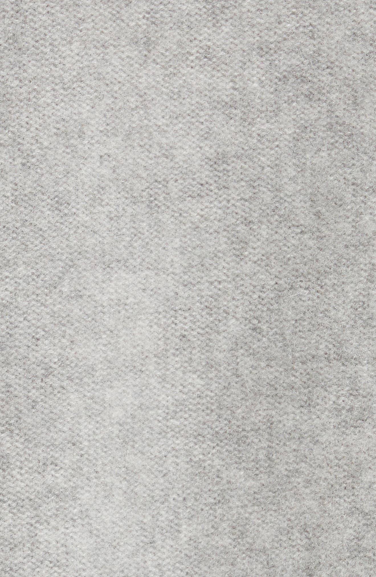 Side Slit Cashmere Turtleneck,                             Alternate thumbnail 5, color,                             062