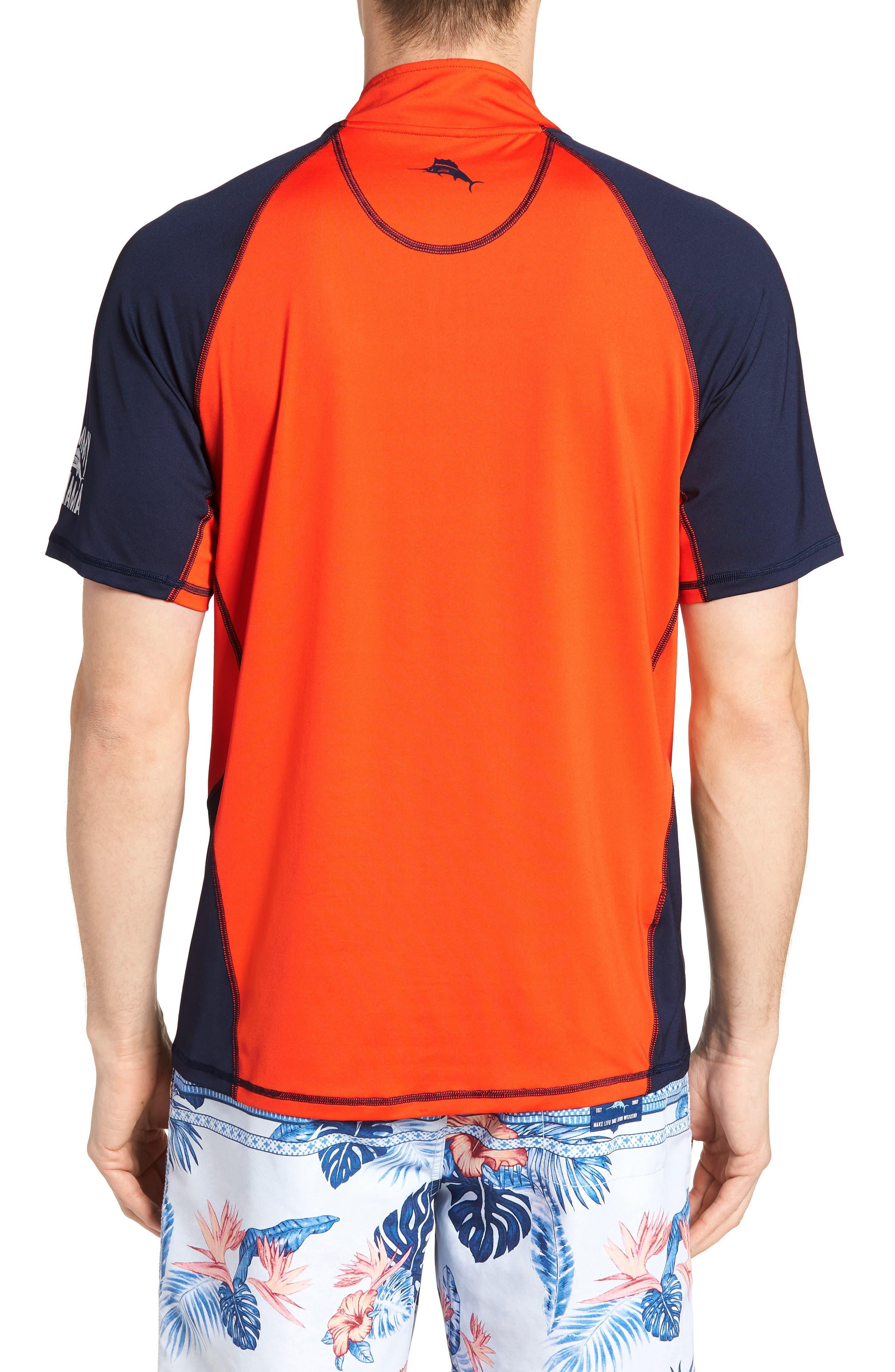 IslandActive<sup>™</sup> Colorblock Beach Pro Rashguard T-Shirt,                             Alternate thumbnail 4, color,