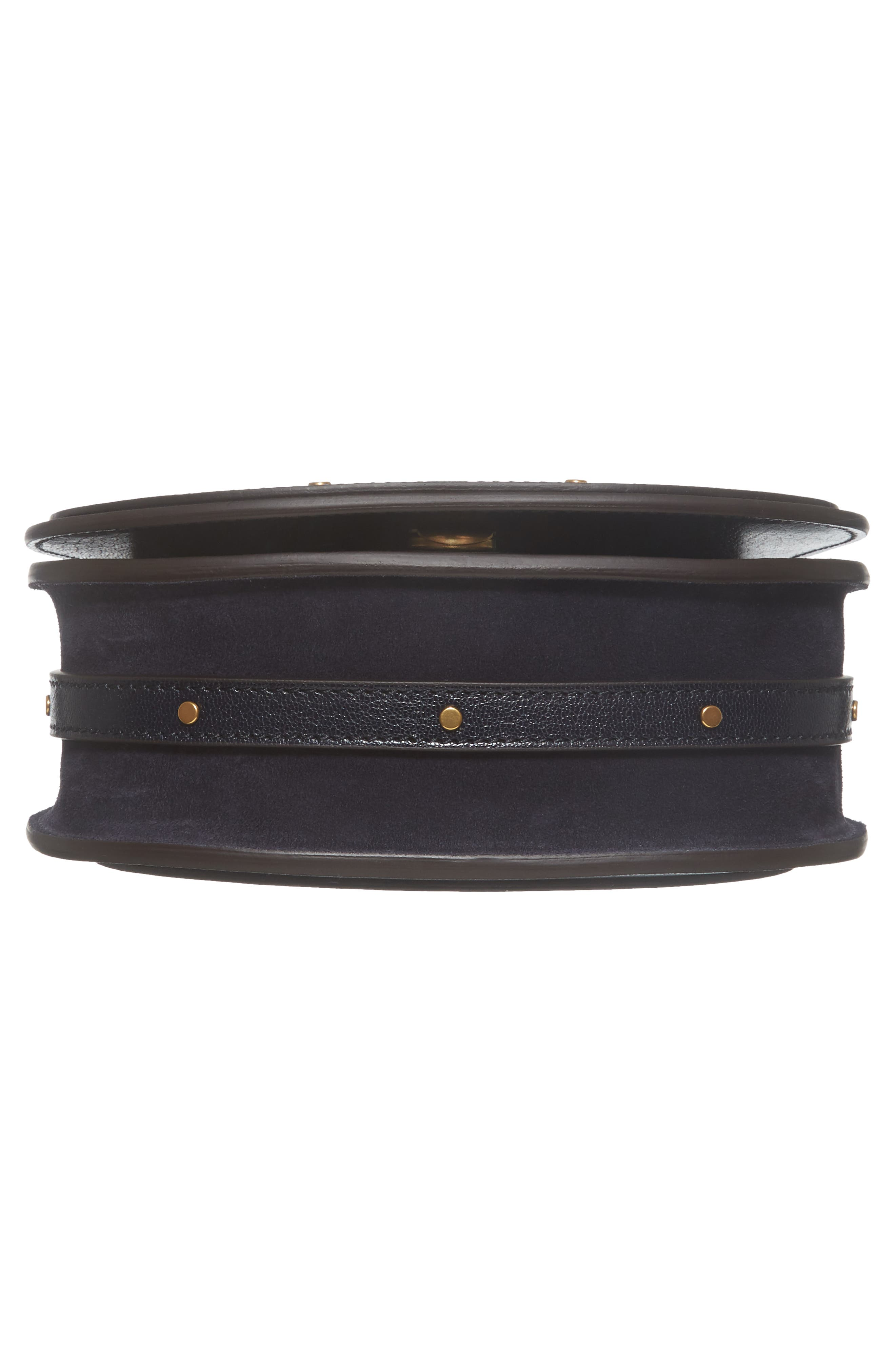 Small Nile Leather Crossbody Bag,                             Alternate thumbnail 6, color,                             412