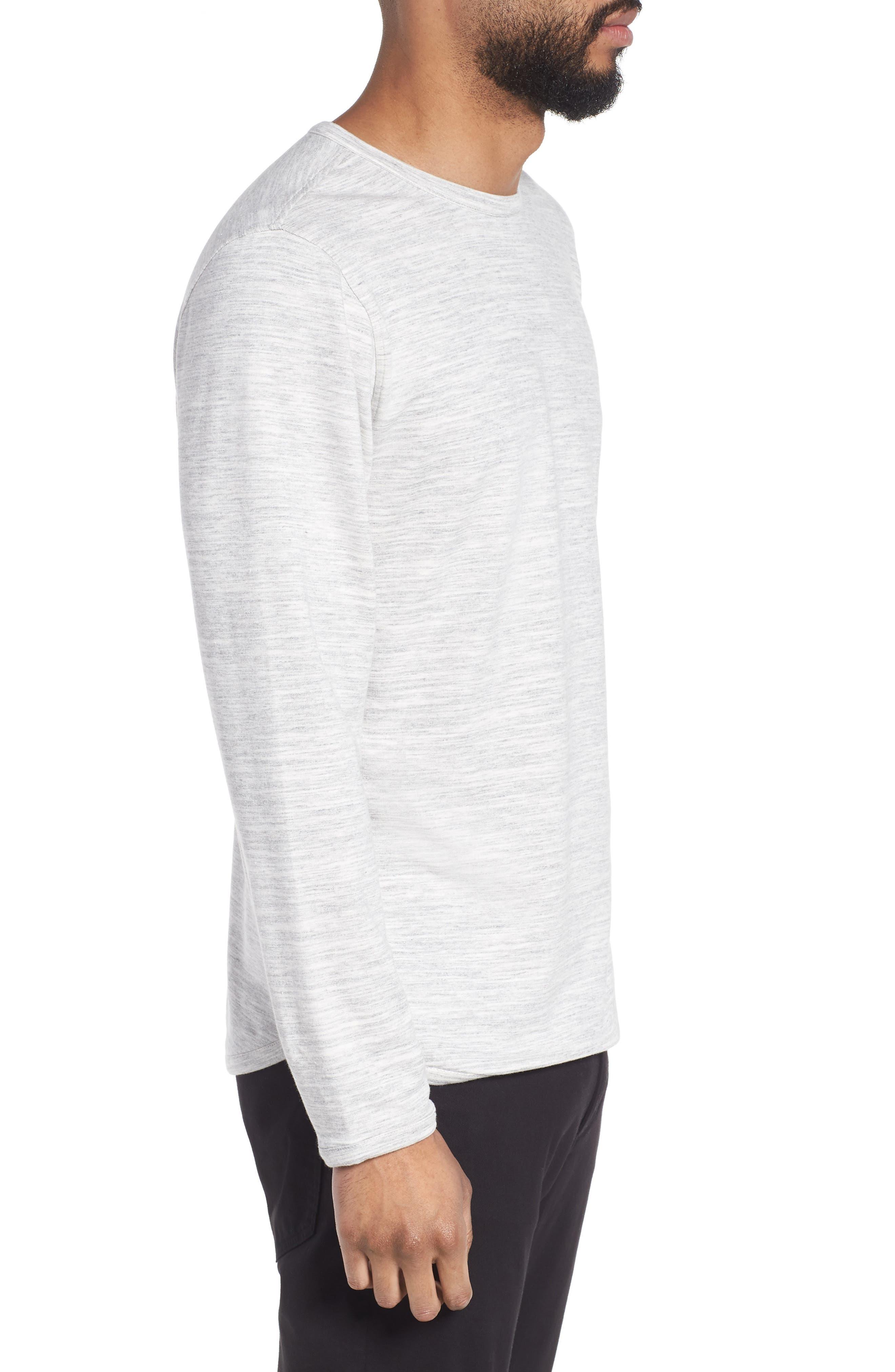 Long Sleeve T-Shirt,                             Alternate thumbnail 3, color,                             029