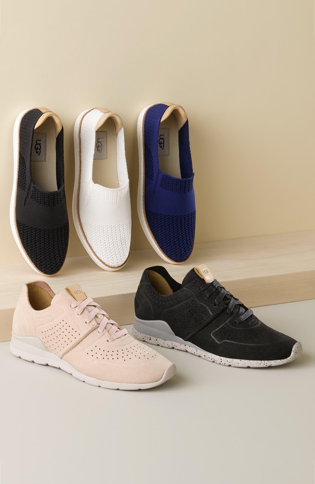 Sammy Sneaker,                         Main,                         color, BLACK FABRIC