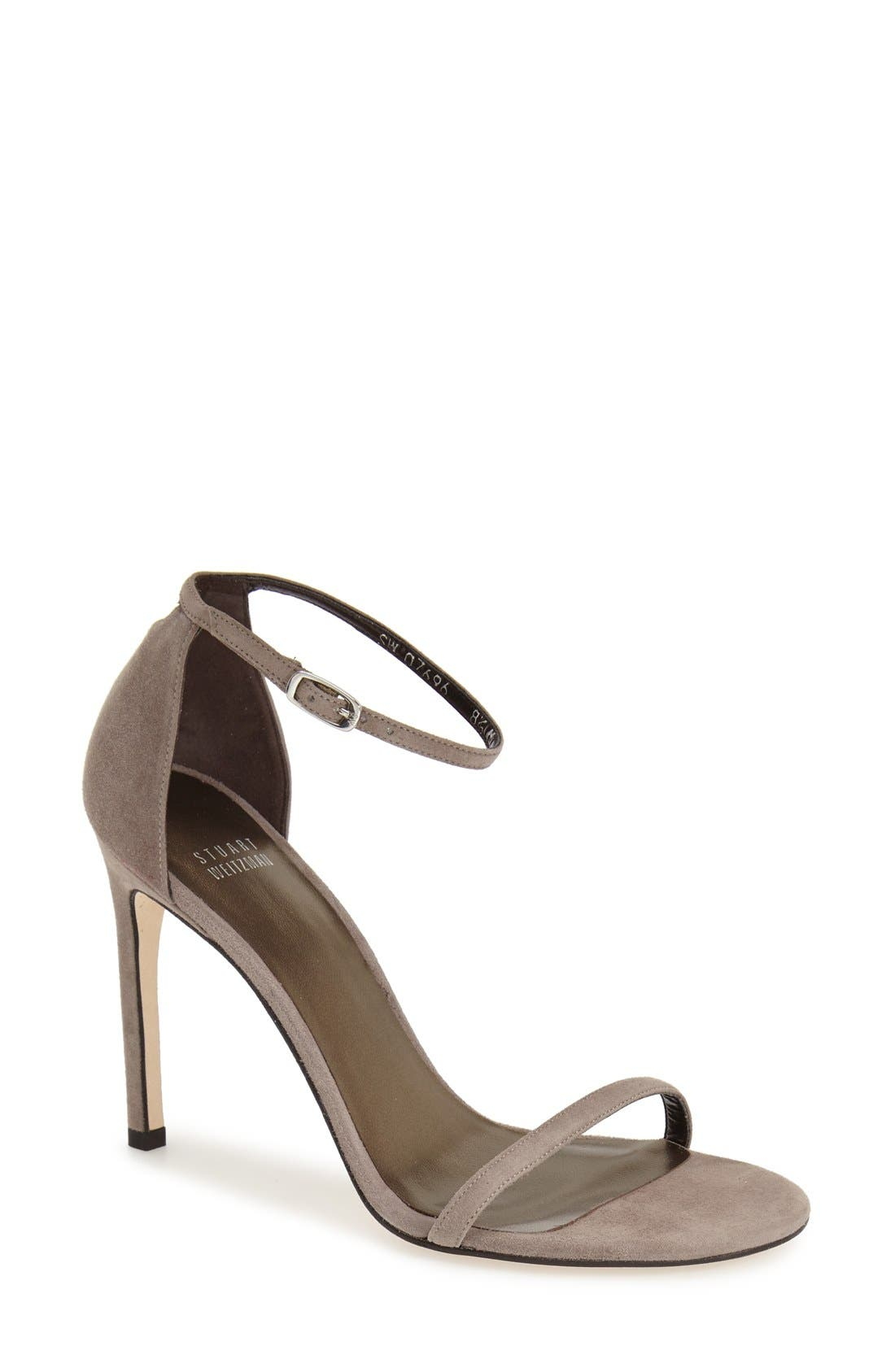 Nudistsong Ankle Strap Sandal,                             Main thumbnail 20, color,