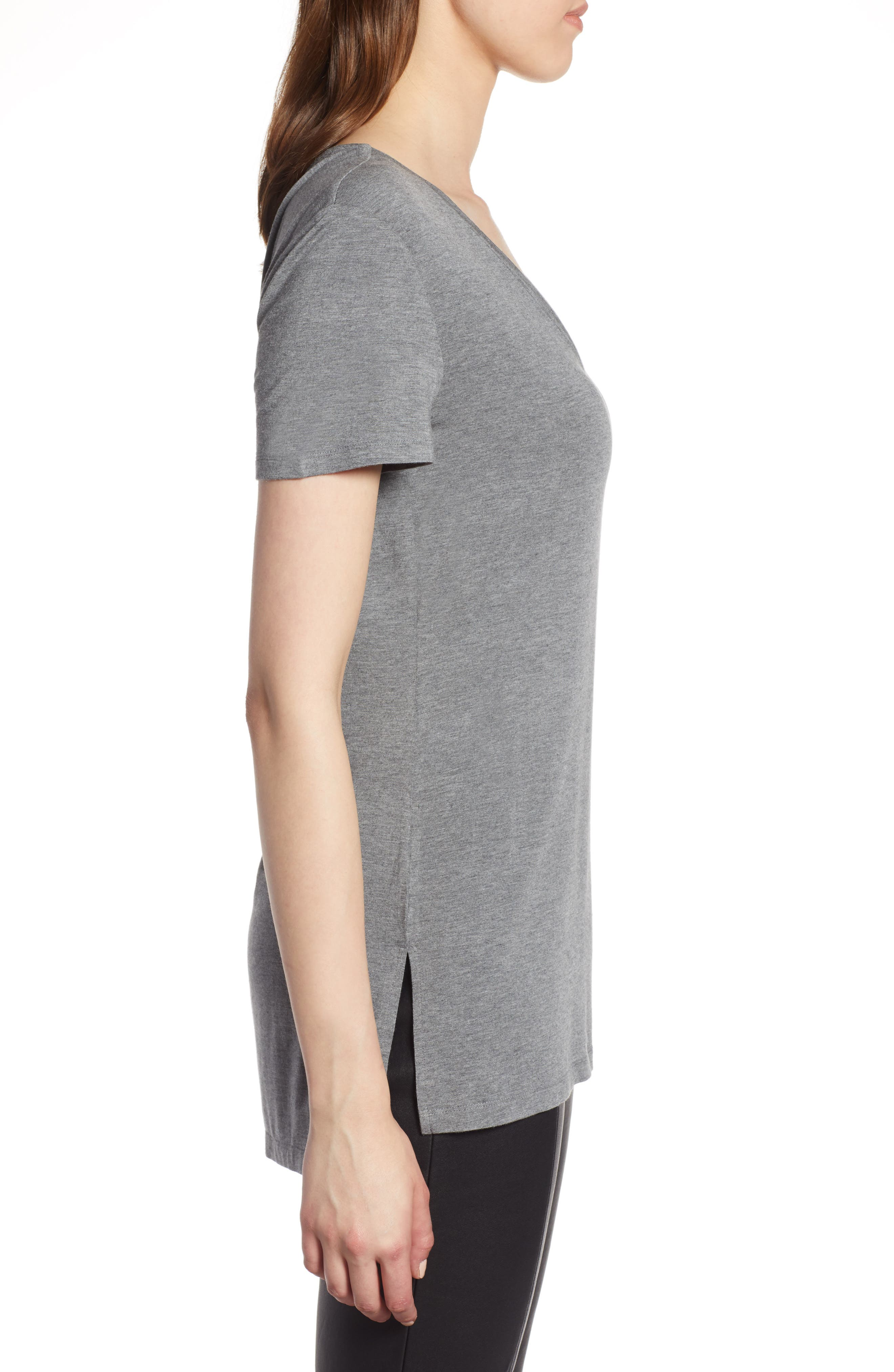 V-Neck Tunic Tee,                             Alternate thumbnail 26, color,