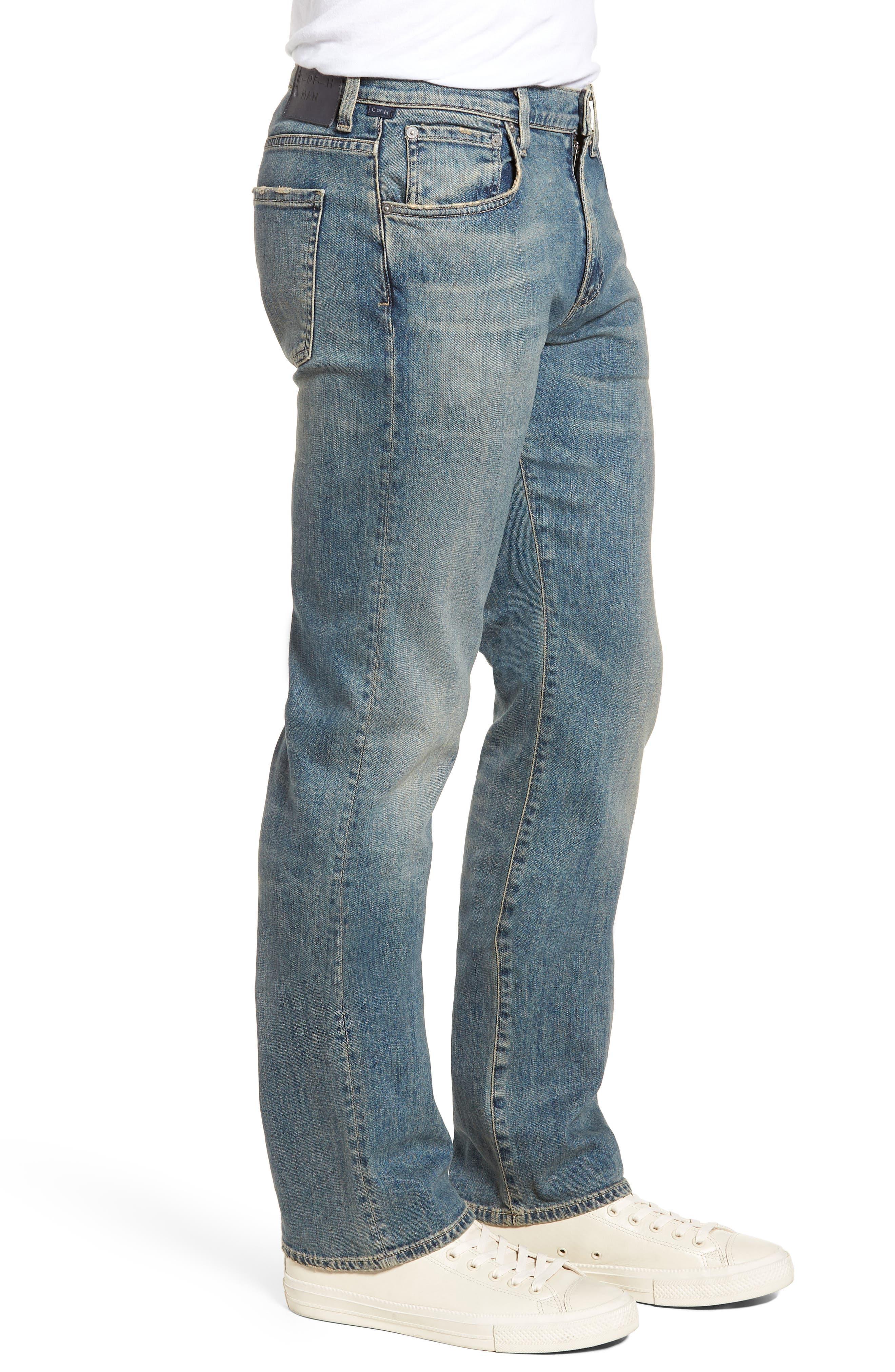Sid Straight Leg Jeans,                             Alternate thumbnail 3, color,                             URIEL