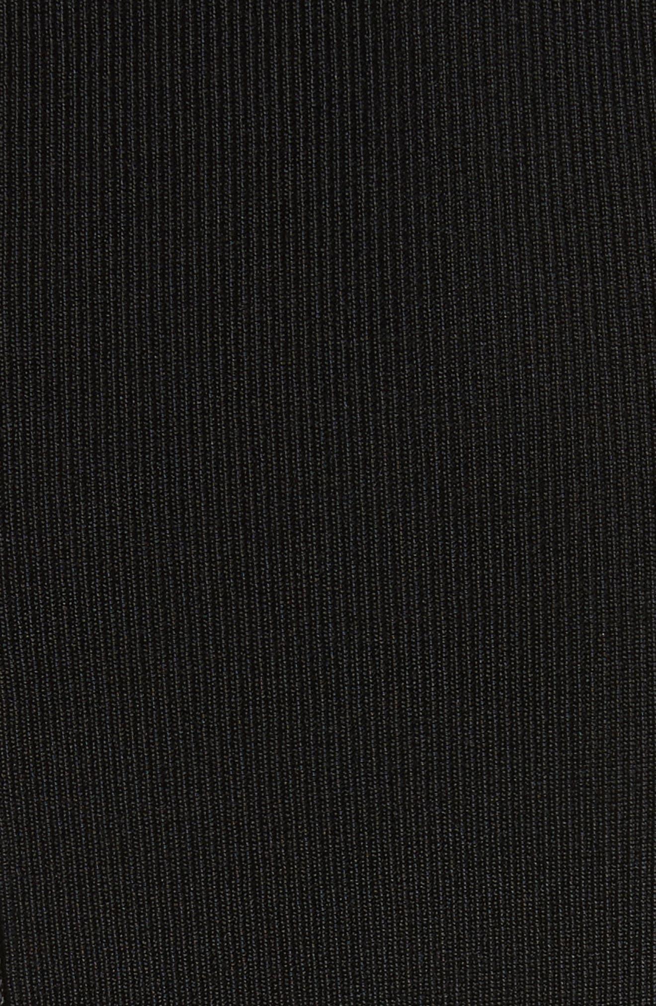 Flippy Cold Shoulder Skater Dress,                             Alternate thumbnail 5, color,