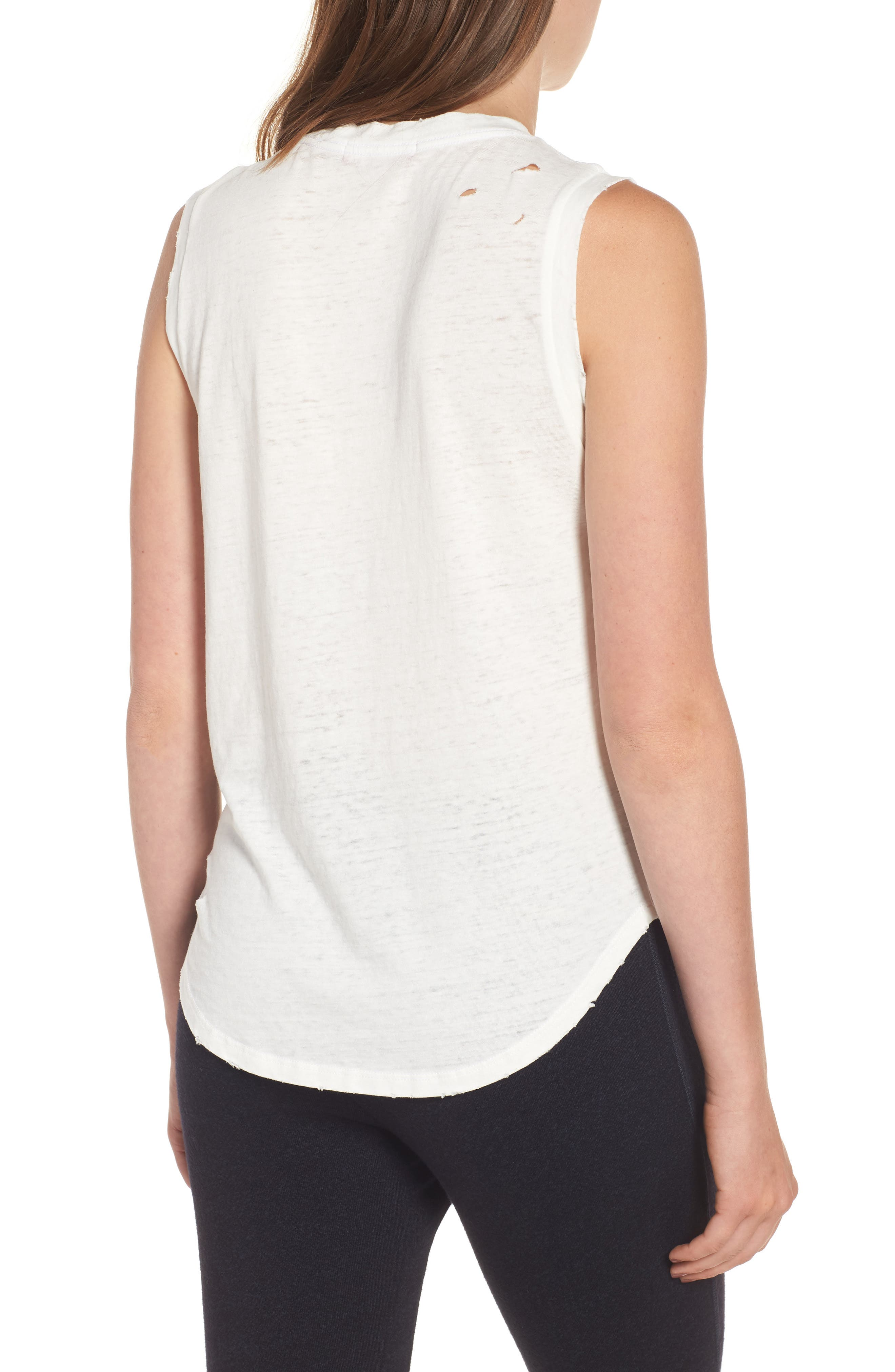 Corin Deconstructed Muscle Tank,                             Alternate thumbnail 2, color,                             100