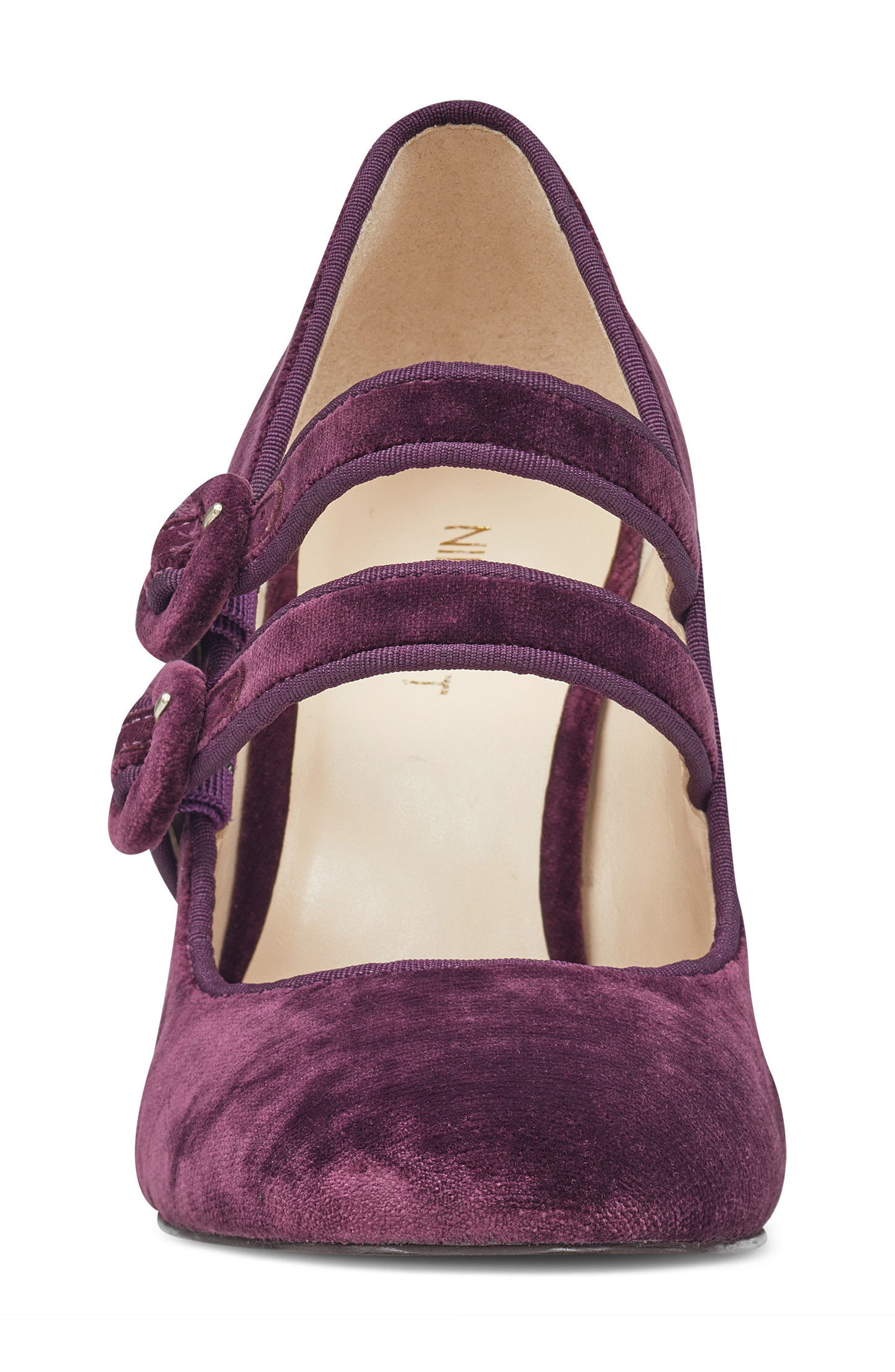 Dabney Double Strap Mary Jane Pump,                             Alternate thumbnail 16, color,