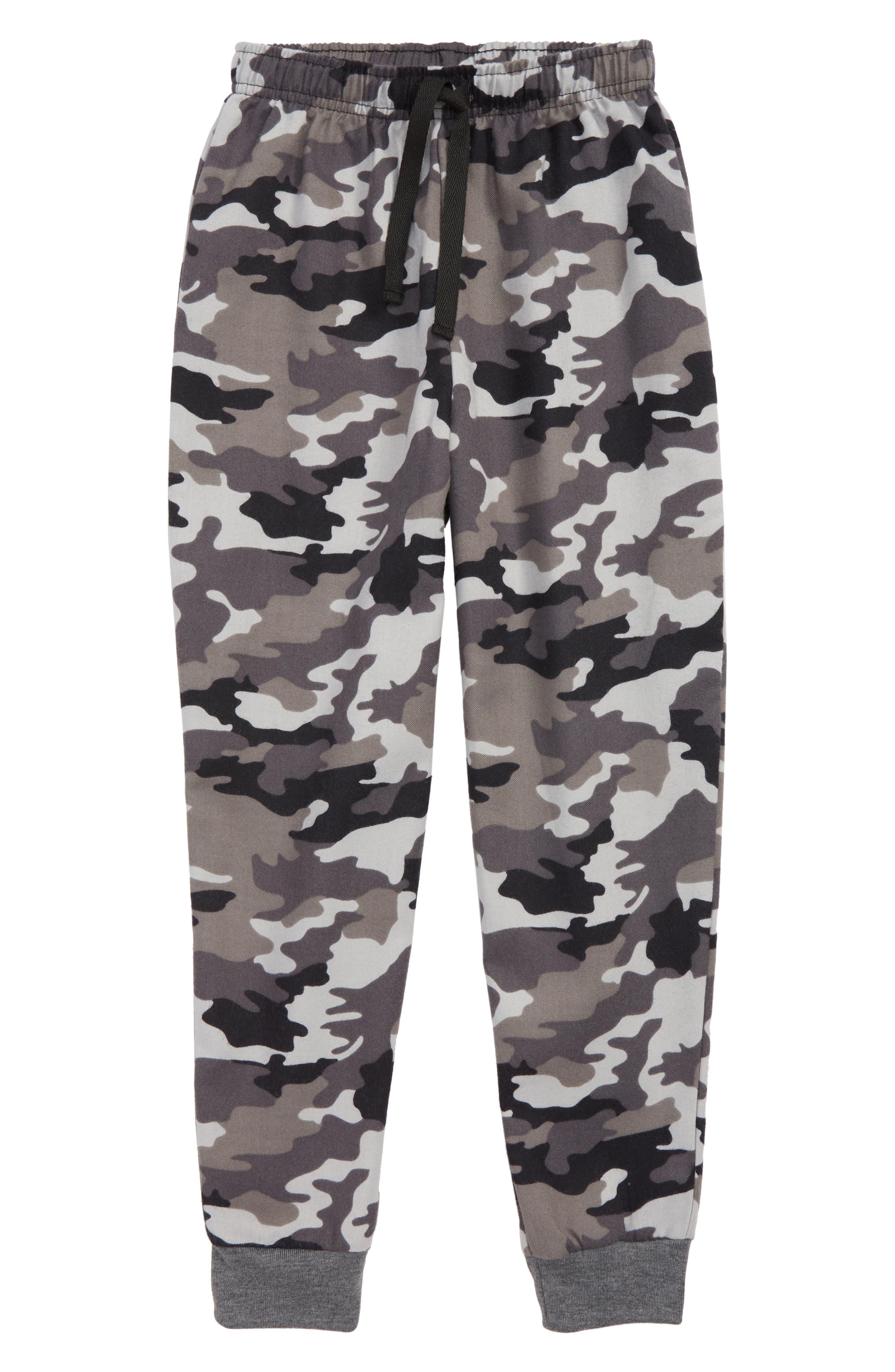 Flannel Jogger Pants,                             Main thumbnail 1, color,                             021