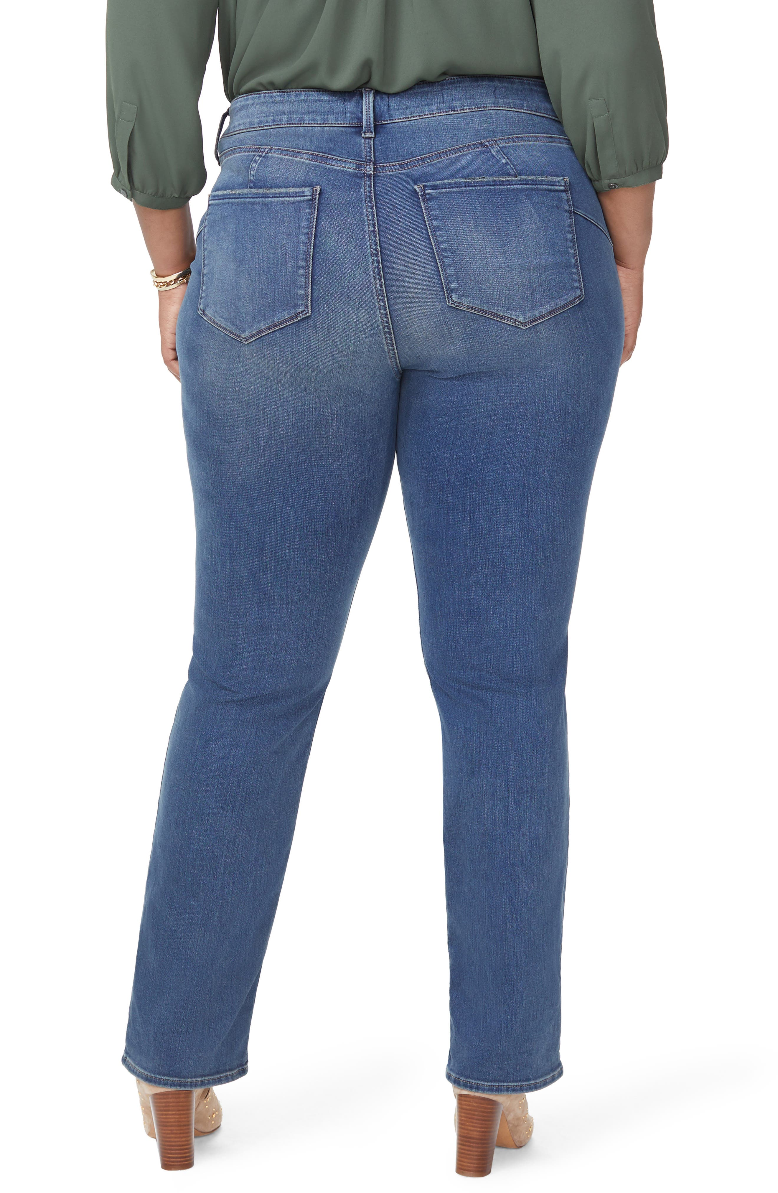 Marilyn Uplift Straight Leg Jeans,                             Alternate thumbnail 2, color,                             FERRIS
