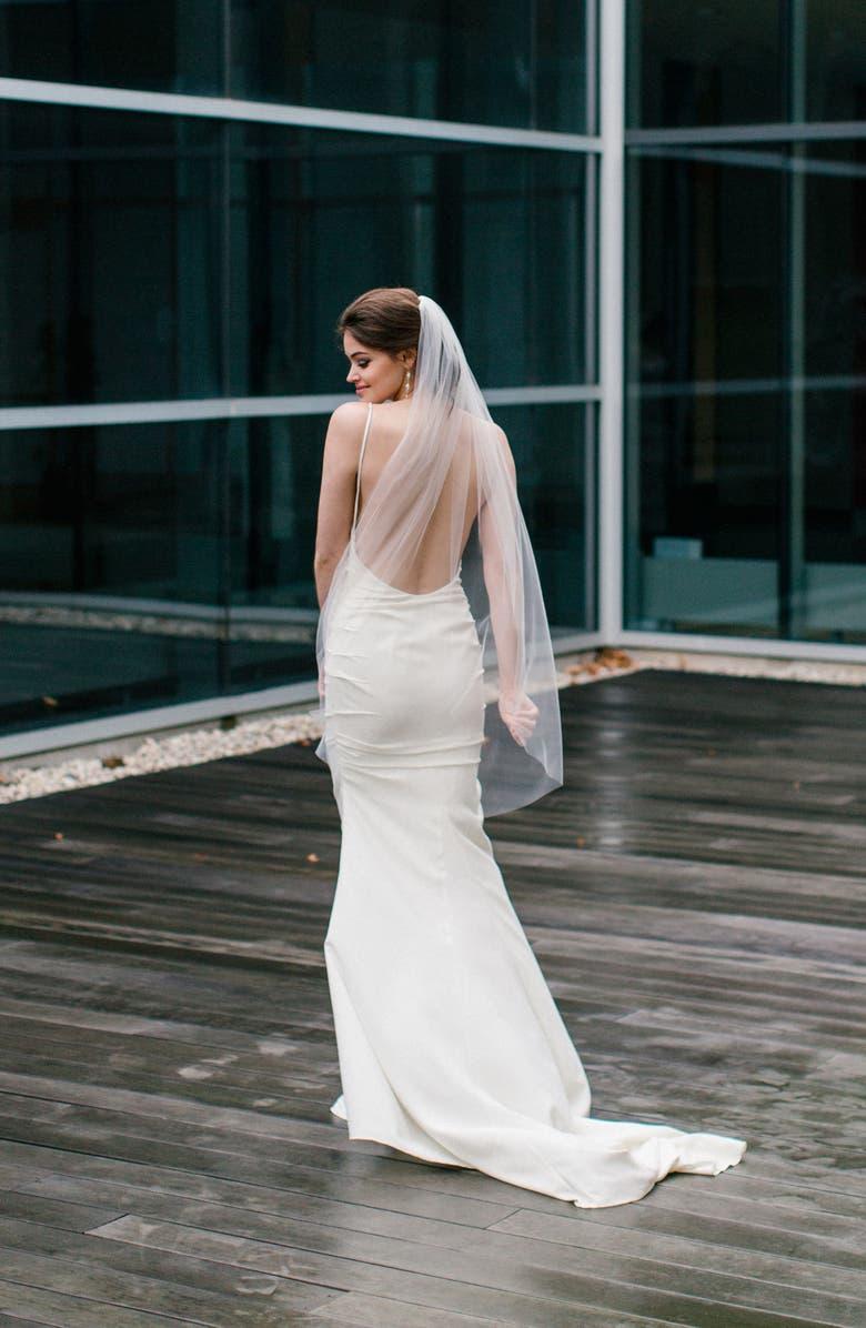 waltz veil for short women