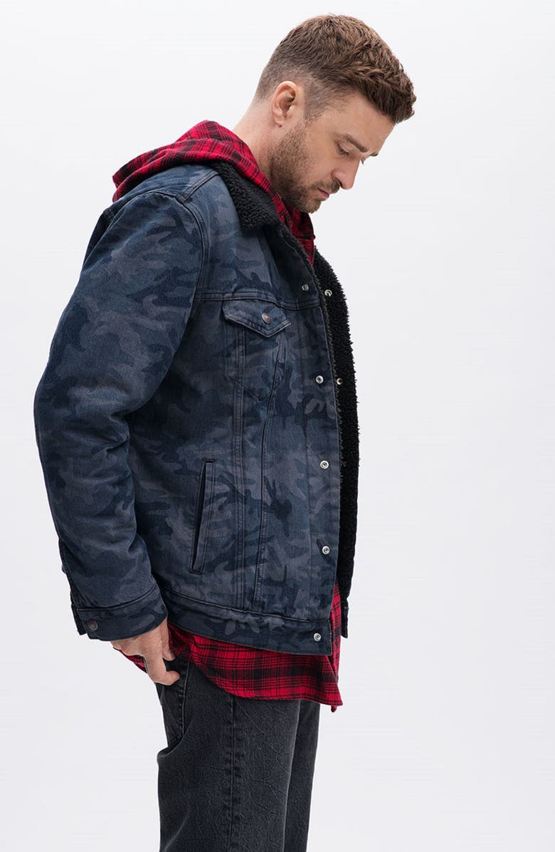 Levi's® x Justin Timberlake Faux Shearling Collar Trucker Jacket | Nordstrom