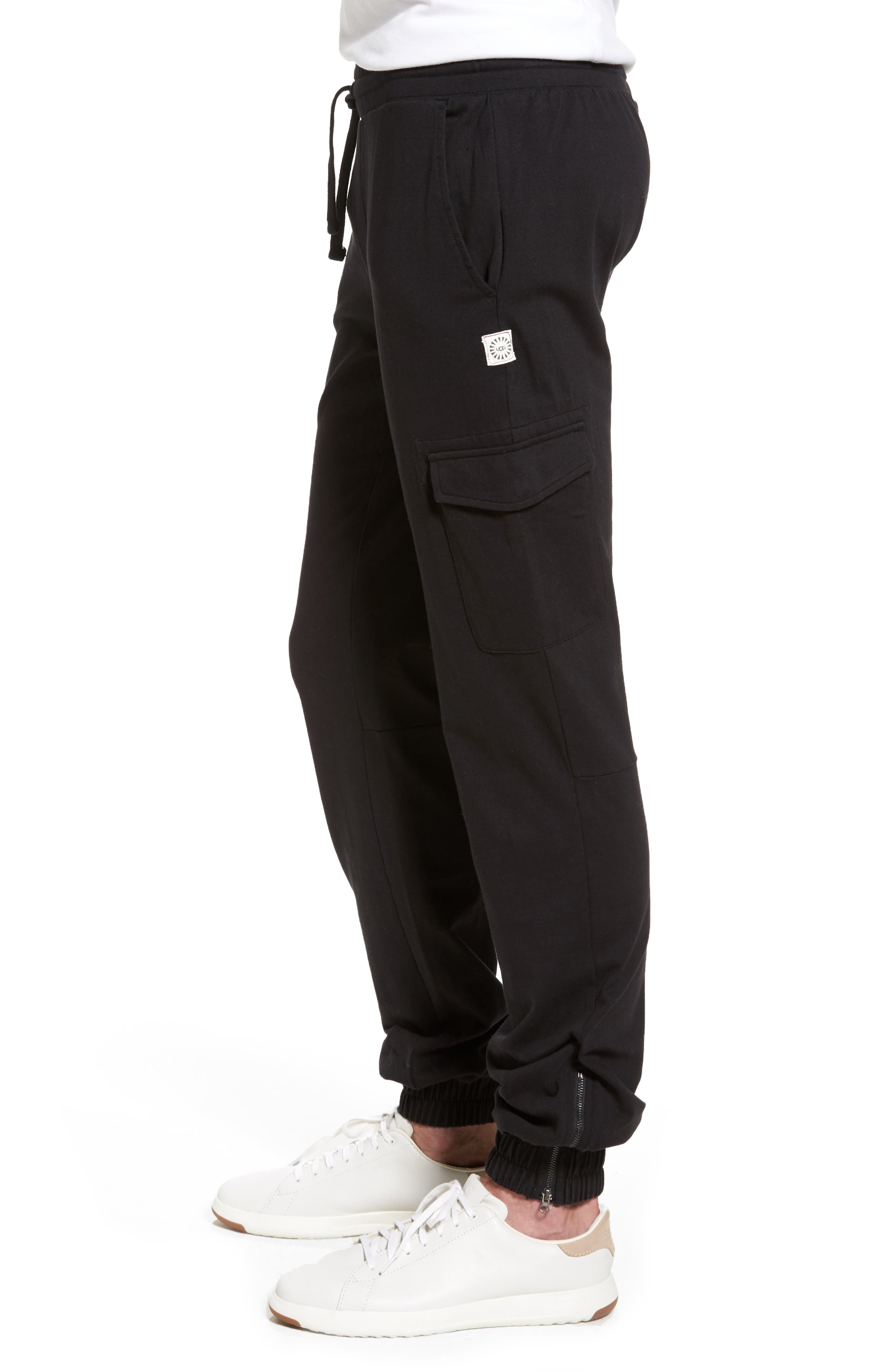 Jersey Cargo Pants,                             Alternate thumbnail 3, color,