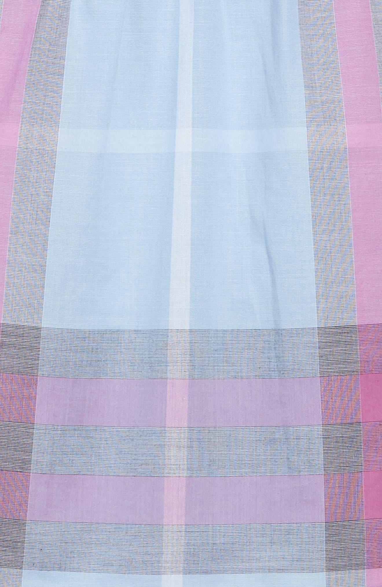 Taylor Check Dress,                             Alternate thumbnail 3, color,                             450