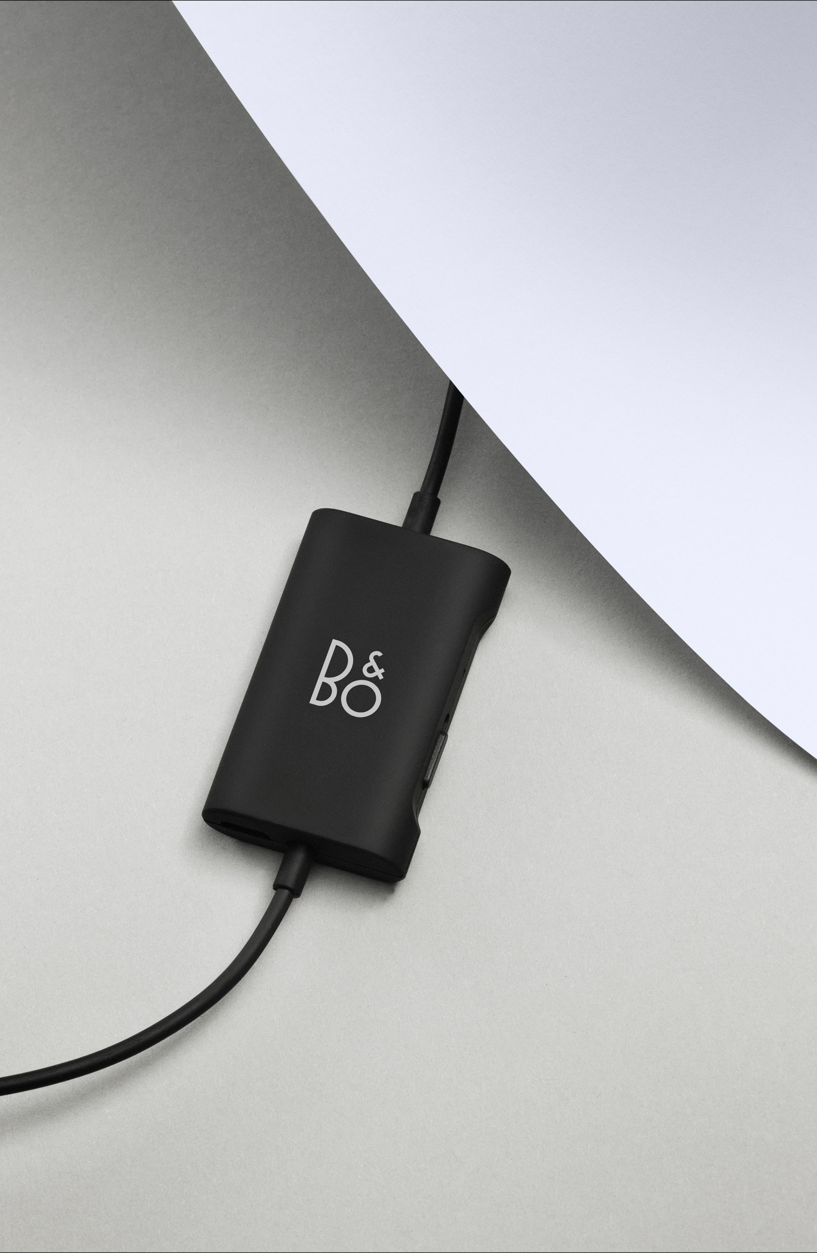 B&O PLAY E4 Noise Canceling In-Ear Headphones,                             Alternate thumbnail 6, color,                             BLACK