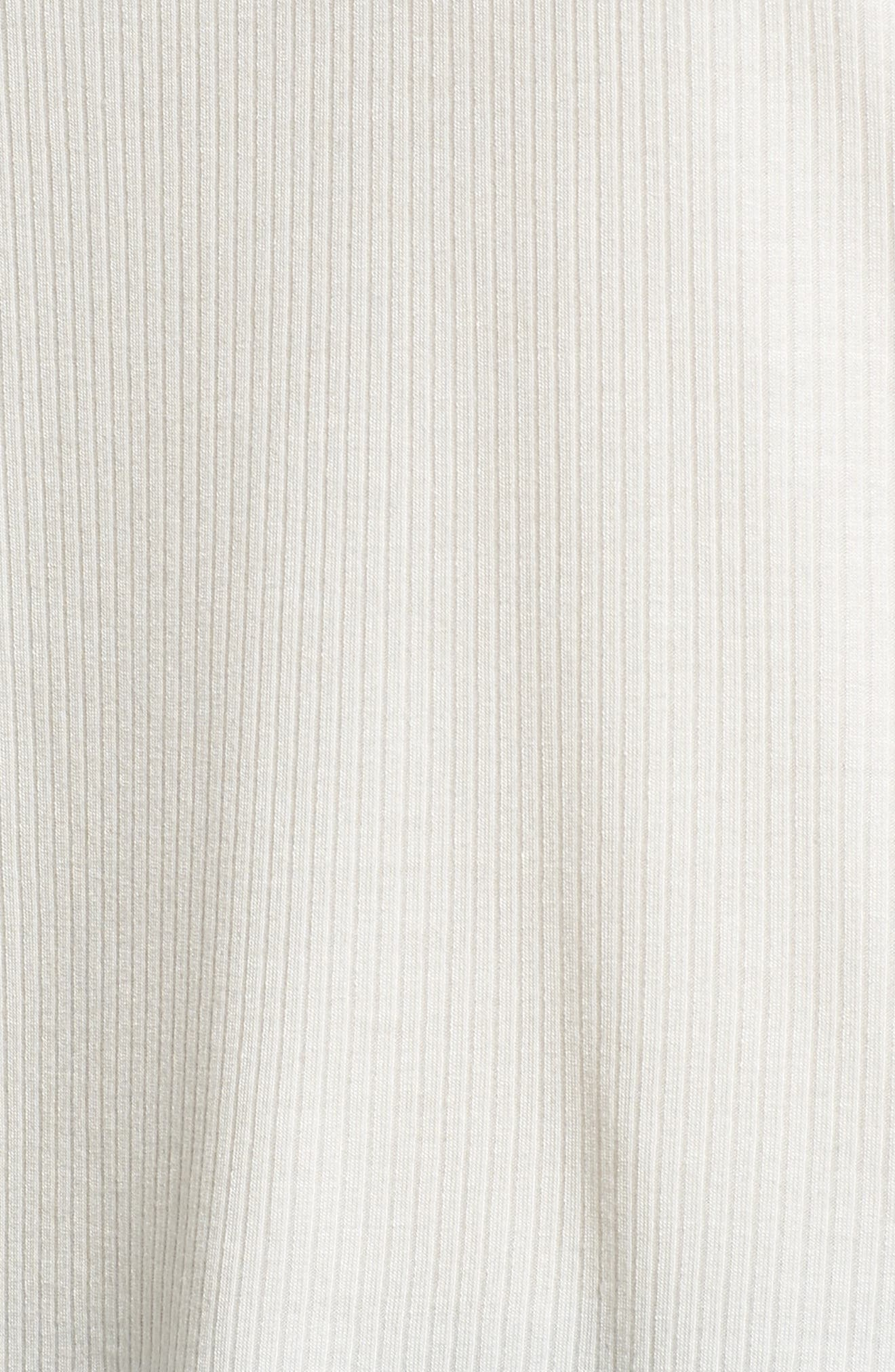 Ruffle Sleeve Ribbed Sweater,                             Alternate thumbnail 20, color,