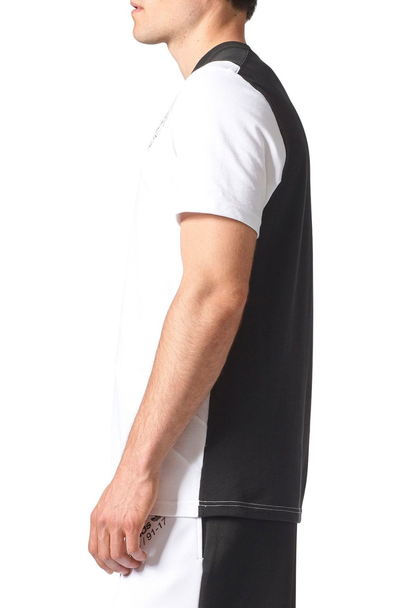 Equipment Rose City T-Shirt,                             Alternate thumbnail 3, color,                             001