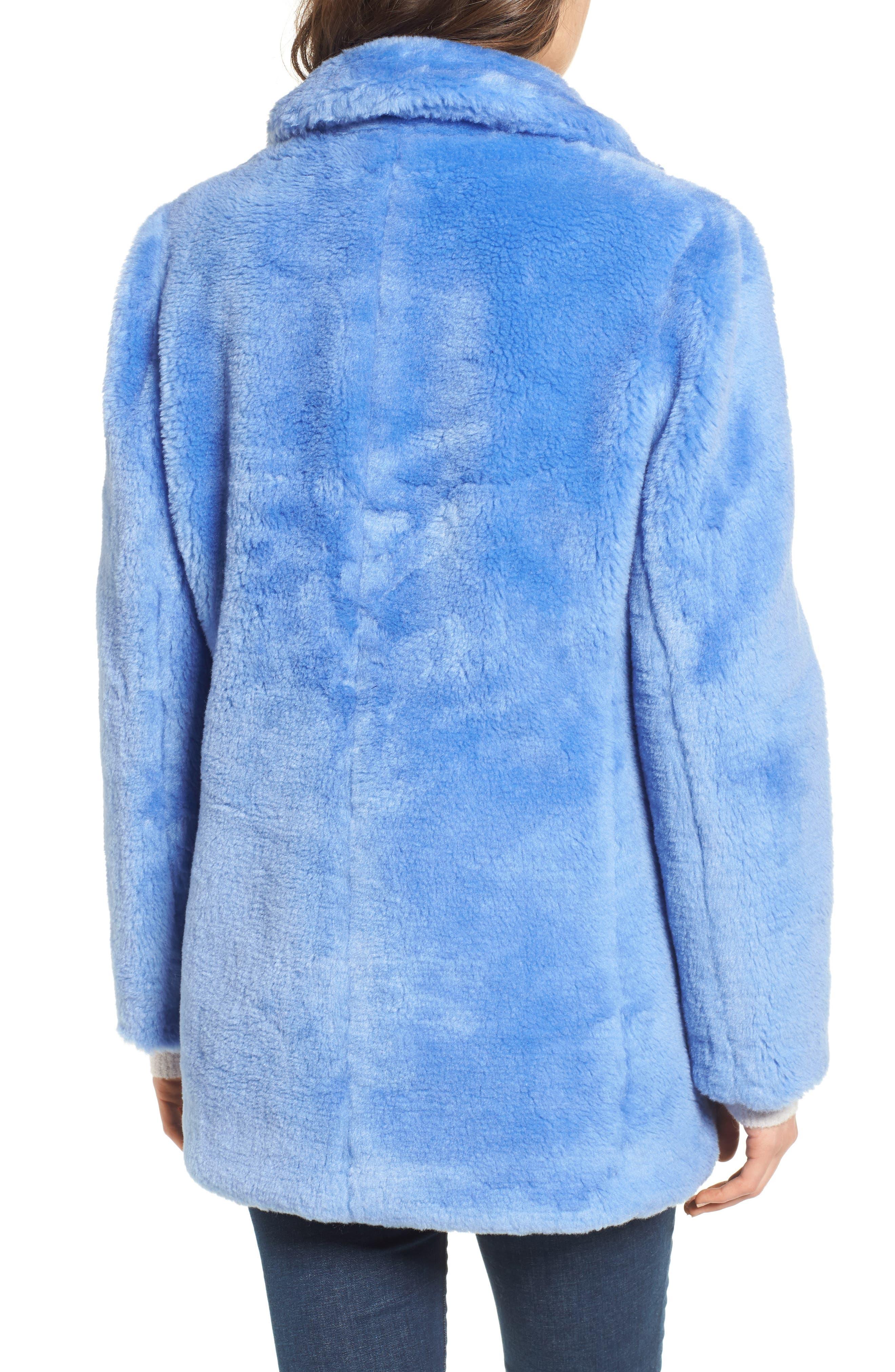 Yuna Teddy Faux Fur Jacket,                             Alternate thumbnail 5, color,