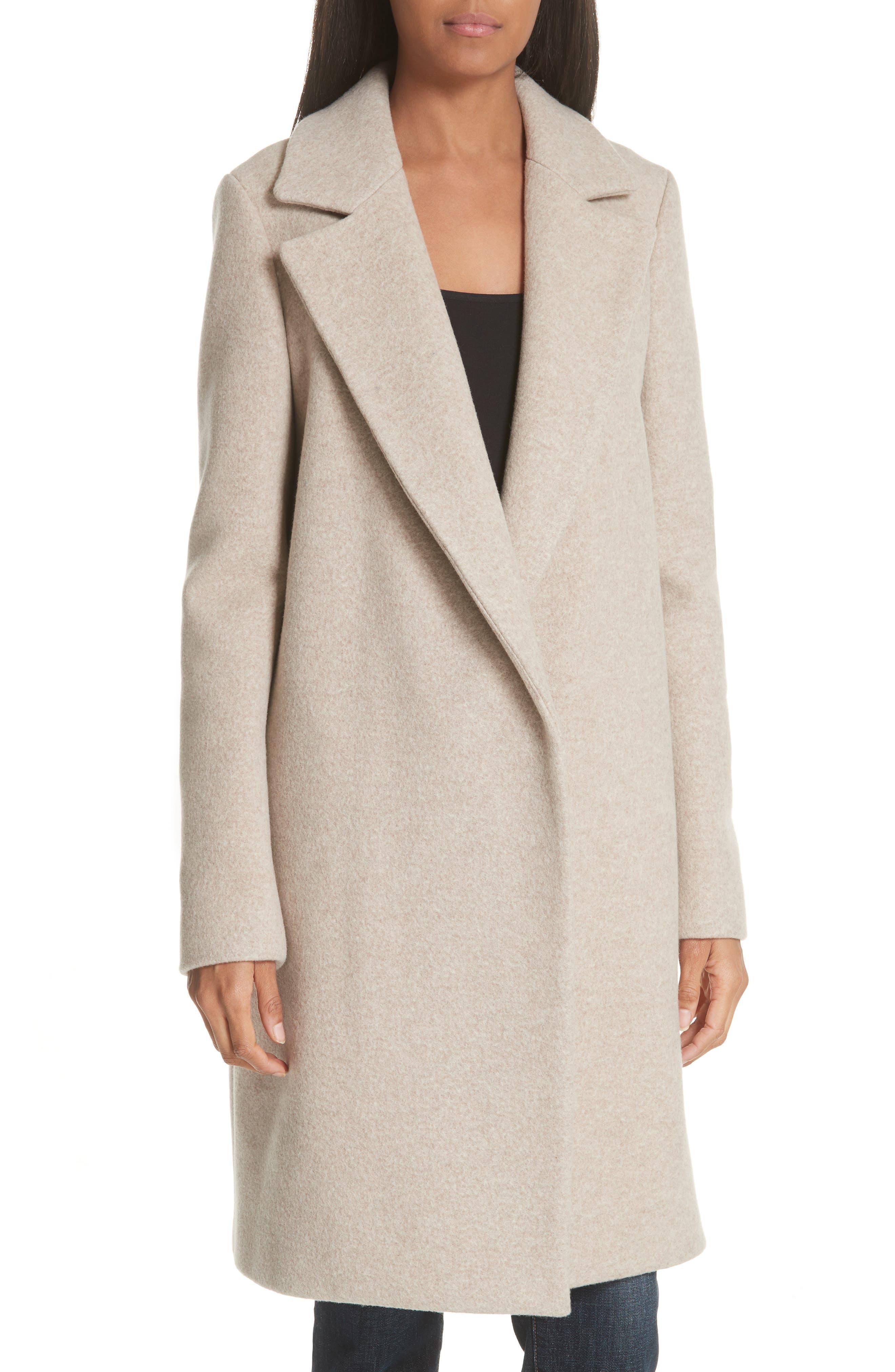 Clairene Hawthorne Wool Cashmere Coat,                             Main thumbnail 1, color,                             260