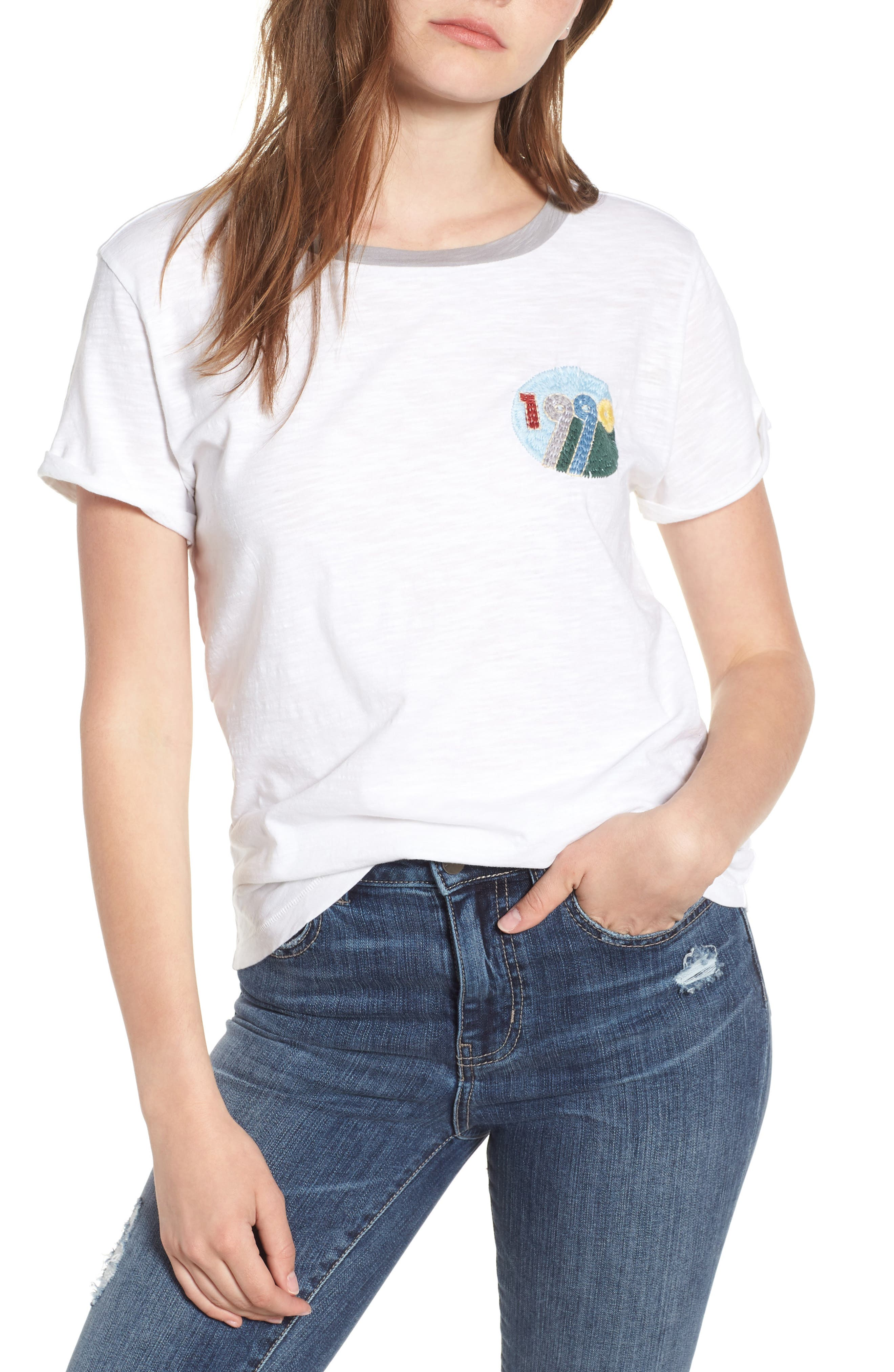 1990 Ringer Tee,                         Main,                         color, 110