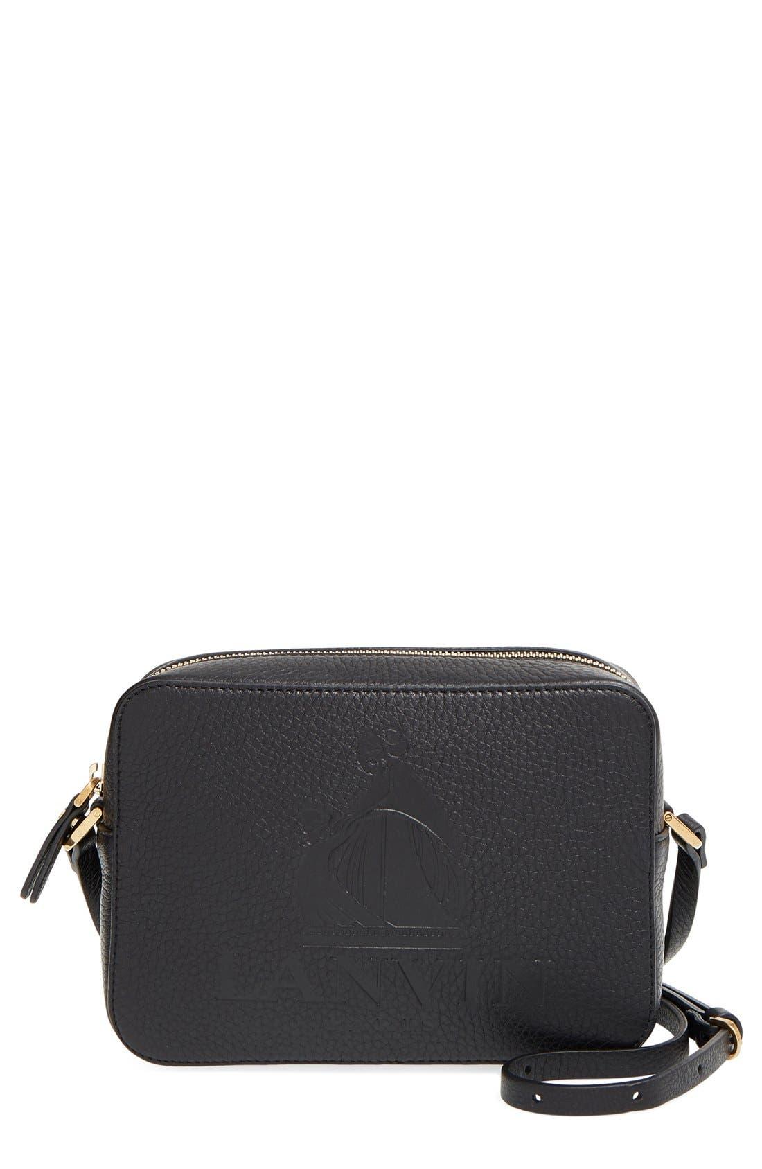 'Nomad' Leather Camera Bag, Main, color, 001
