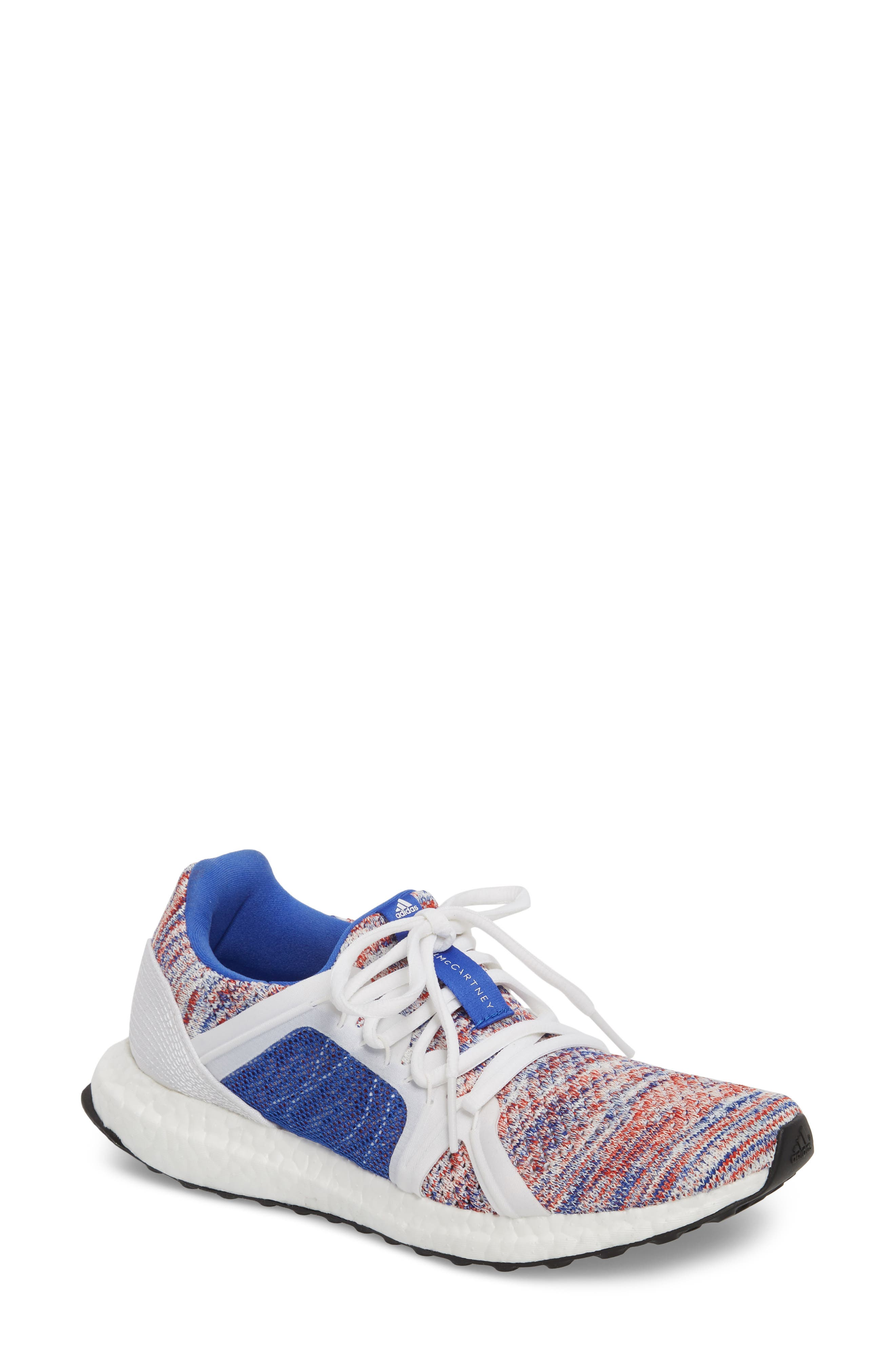 by Stella McCartney UltraBoost x Parley Running Shoe,                             Main thumbnail 5, color,