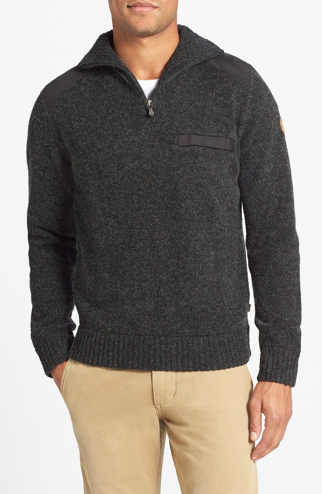 'Koster' Quarter Zip Sweater,                             Main thumbnail 1, color,                             024