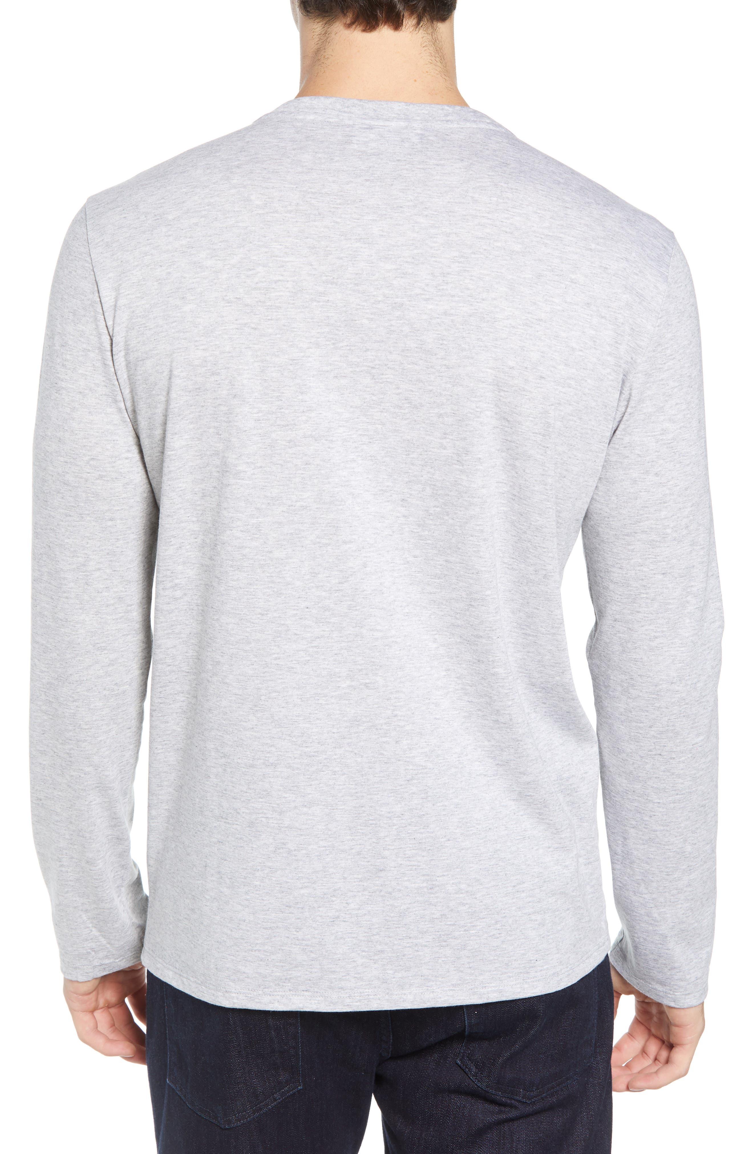 Long Sleeve T-Shirt,                             Alternate thumbnail 2, color,                             SILVER CHINE