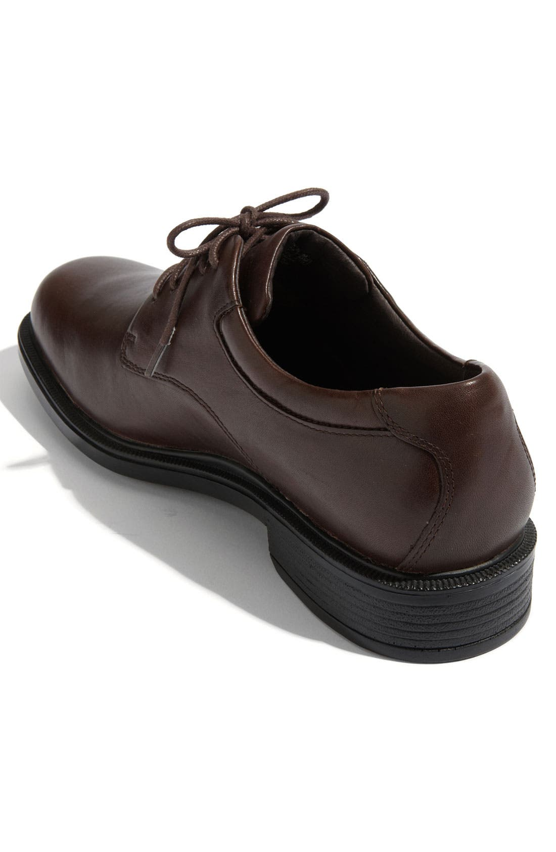 'Margin' Oxford,                             Alternate thumbnail 5, color,                             CHOCOLATE LEATHER
