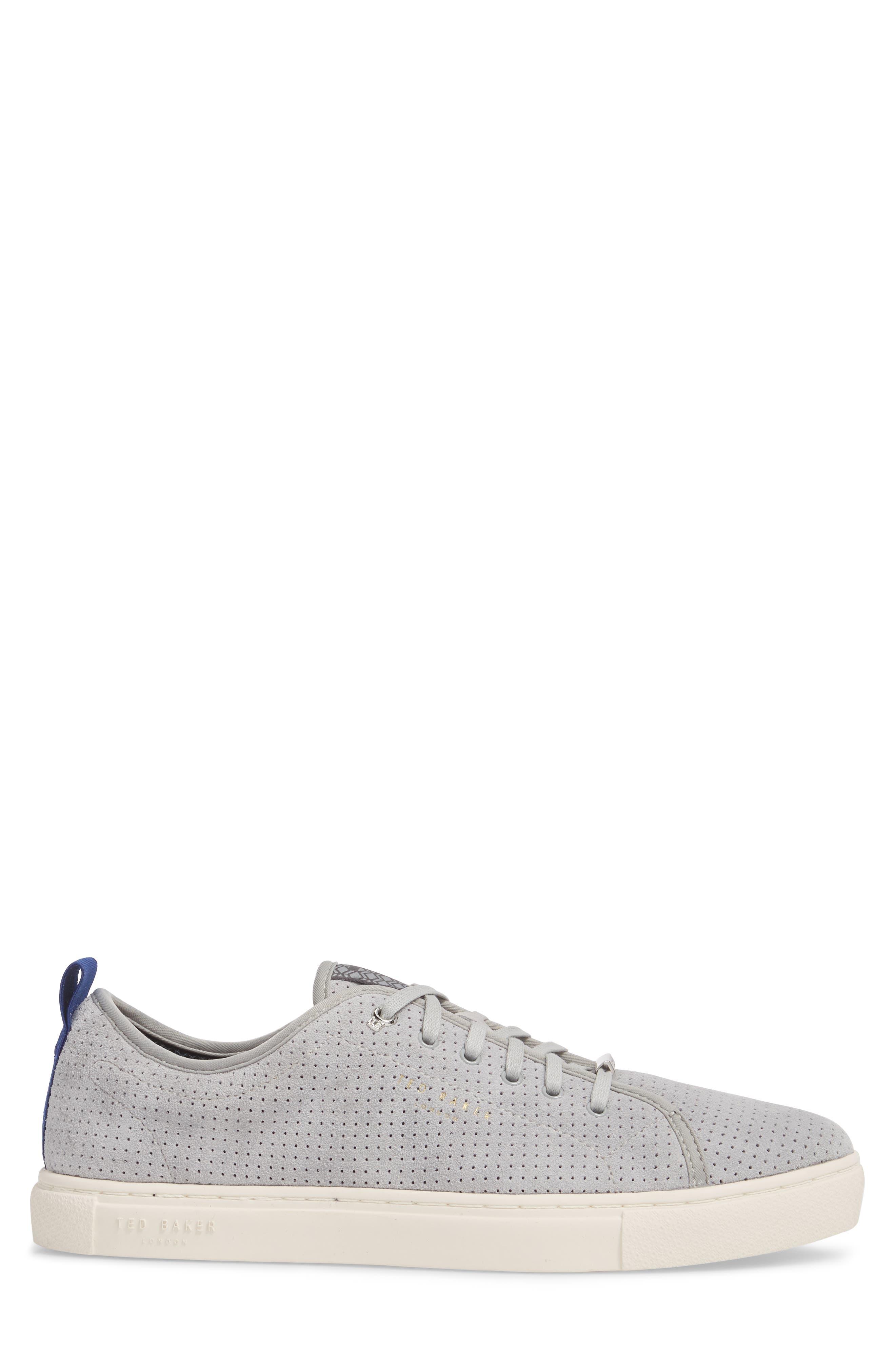 Kaliix Perforated Low Top Sneaker,                             Alternate thumbnail 3, color,                             070