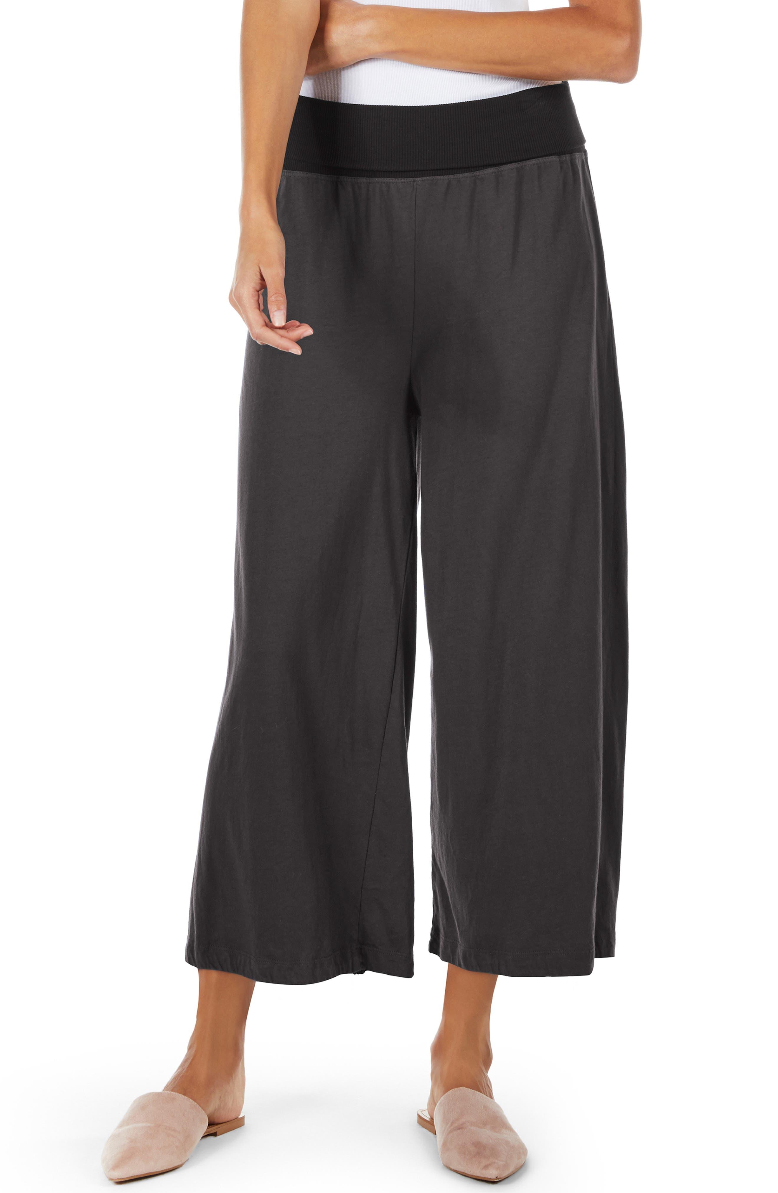Crop Wide Leg Pants,                             Main thumbnail 1, color,                             OXIDE