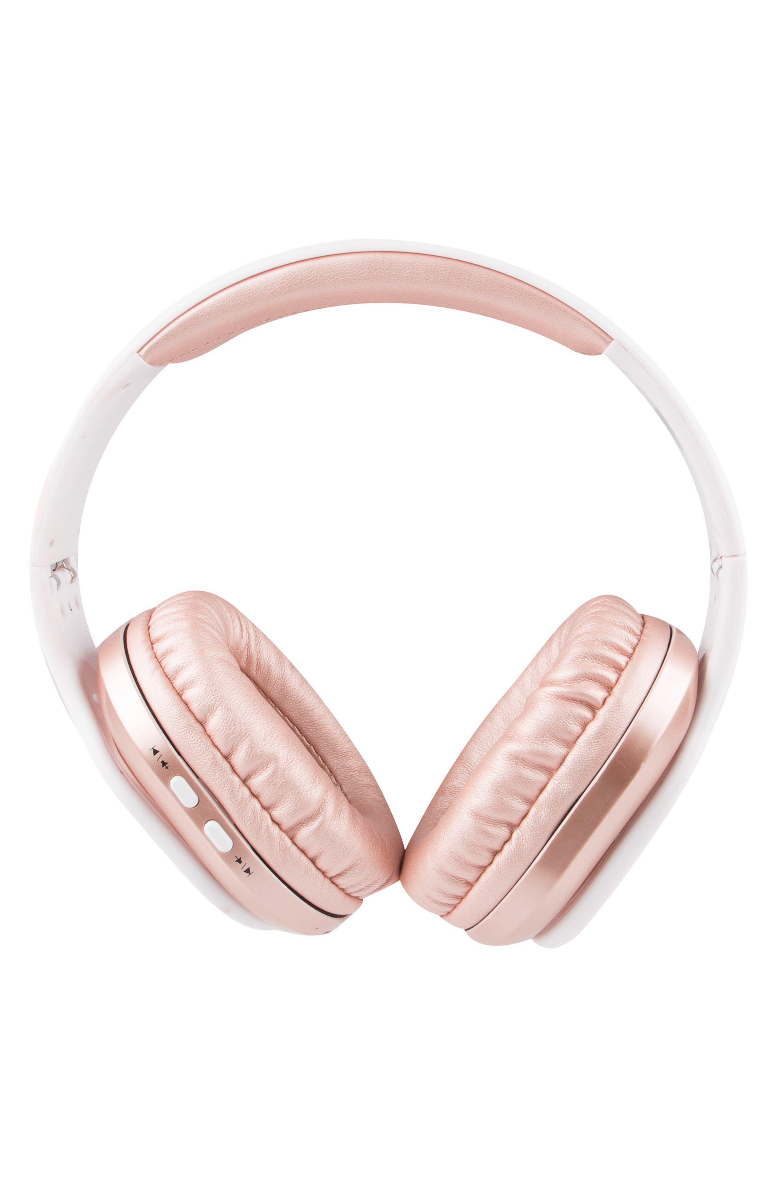 ALTEC LANSING,                             Evolution 2 Wireless Headphones,                             Main thumbnail 1, color,                             ROSE GOLD