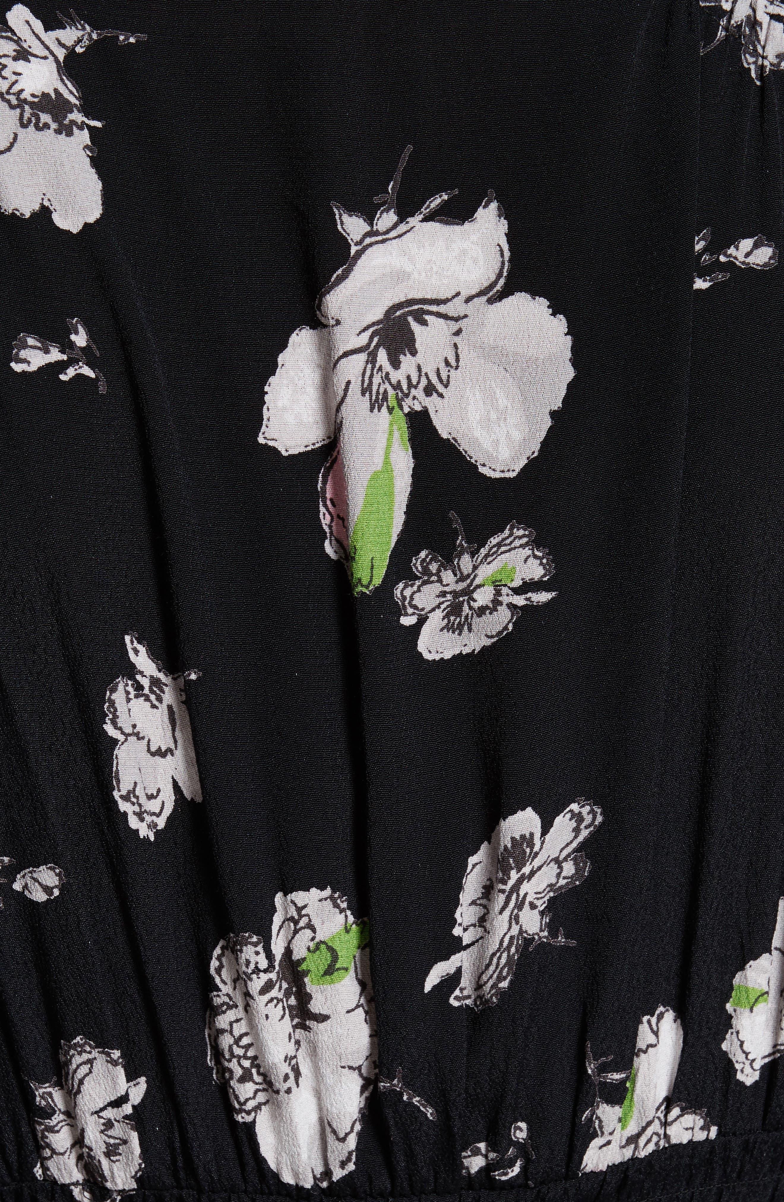 So Sweetly Midi Dress,                             Alternate thumbnail 5, color,                             001