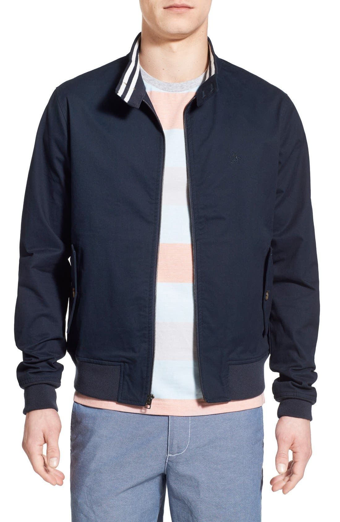 'P55' Harrington Jacket, Main, color, 413