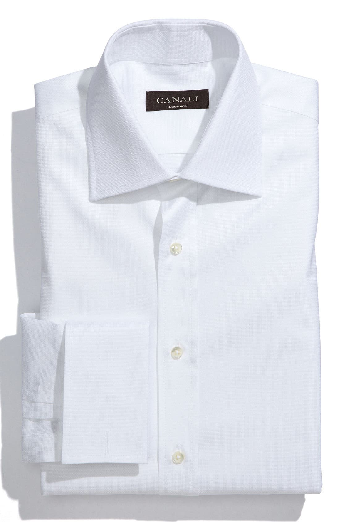 Regular Fit Dress Shirt,                             Main thumbnail 1, color,                             100