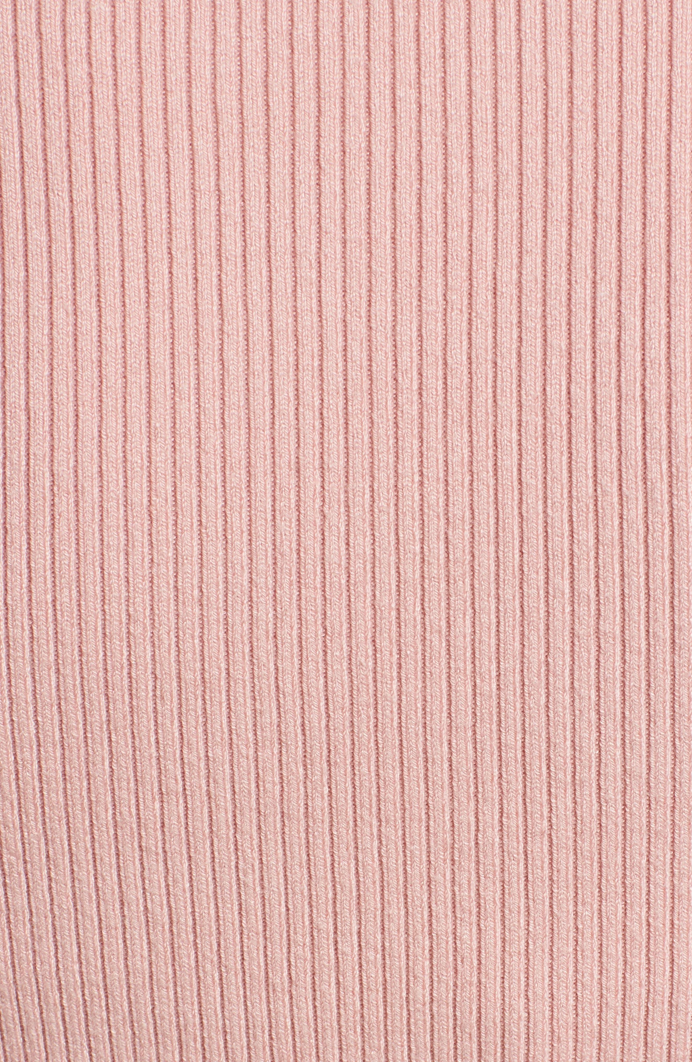 Corset Knit Sweater,                             Alternate thumbnail 5, color,                             660