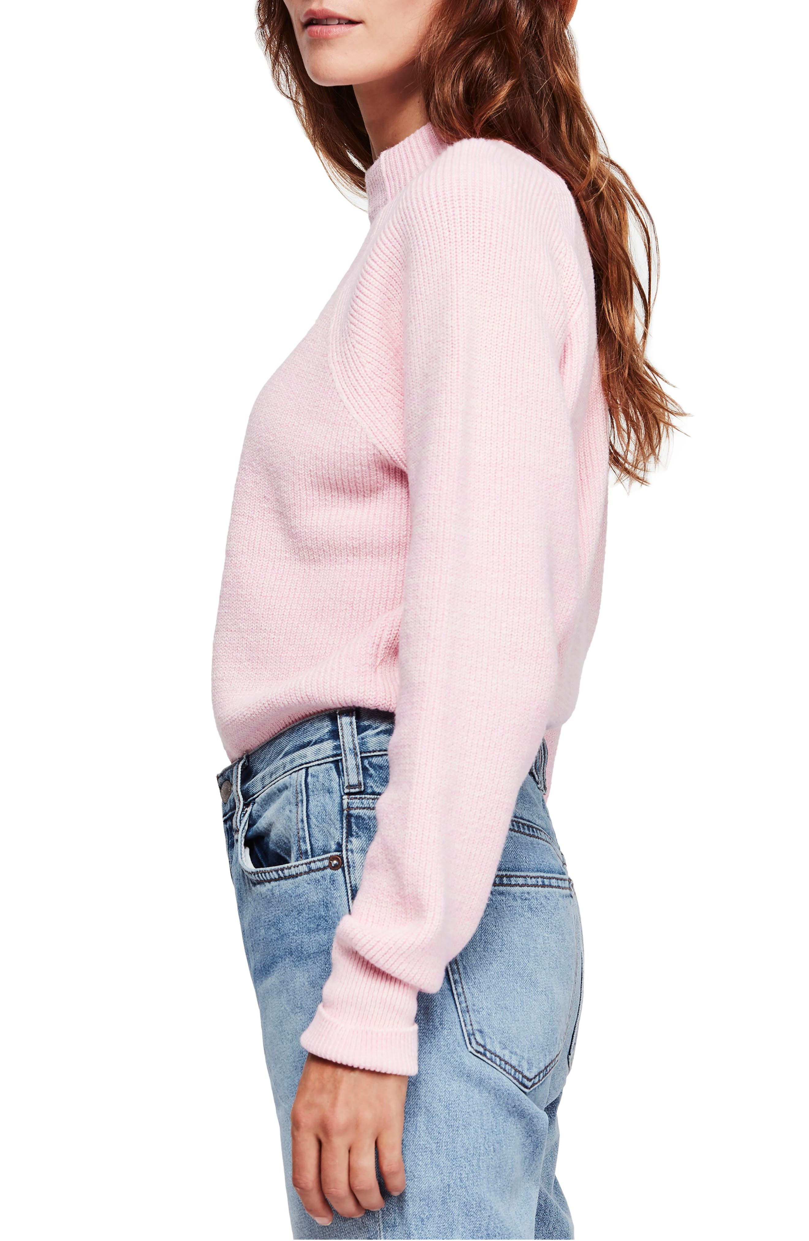 Too Good Sweater,                             Alternate thumbnail 3, color,                             PINK