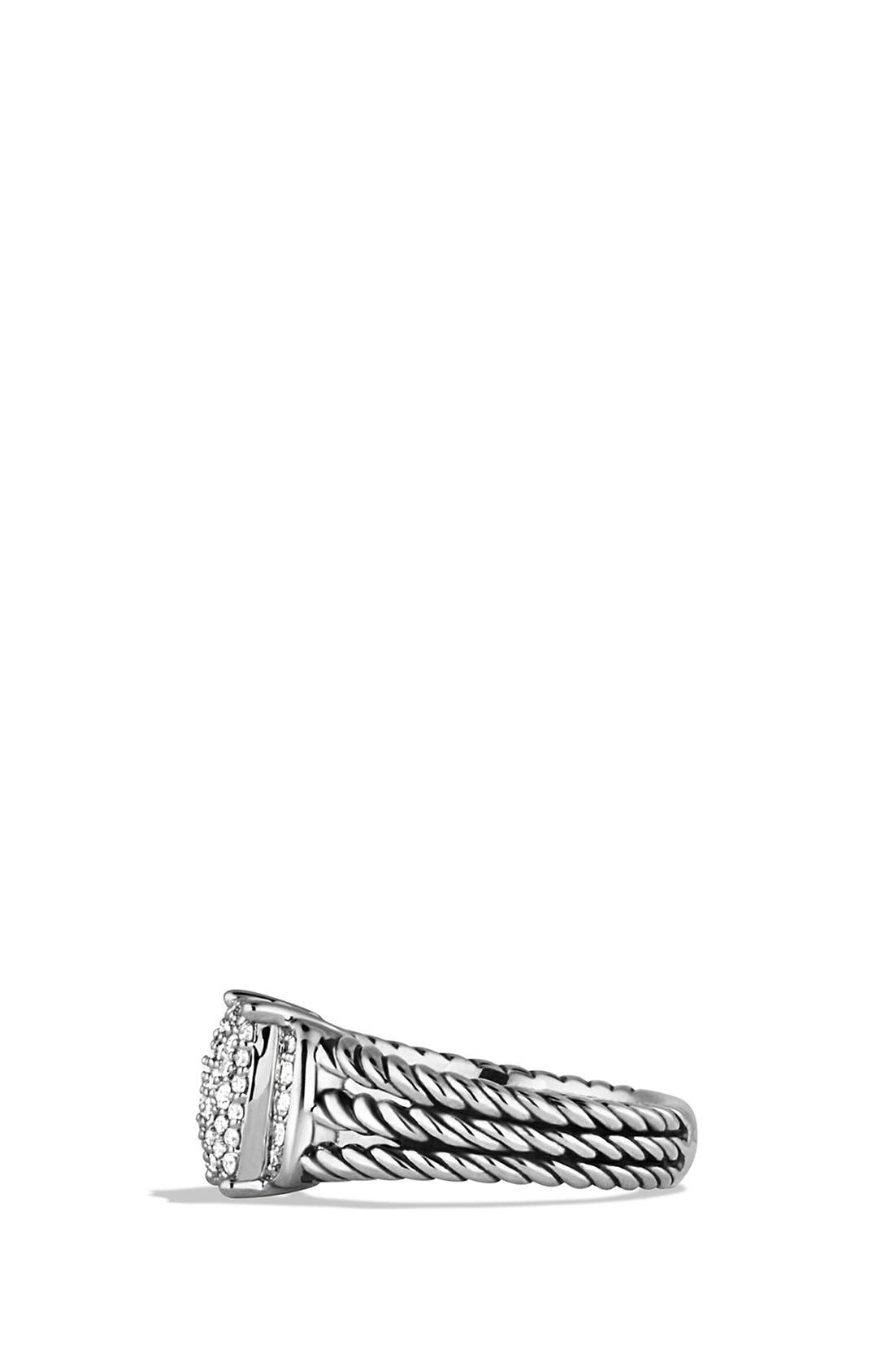 'Wheaton' Petite Ring with Diamonds,                             Alternate thumbnail 3, color,                             DIAMOND